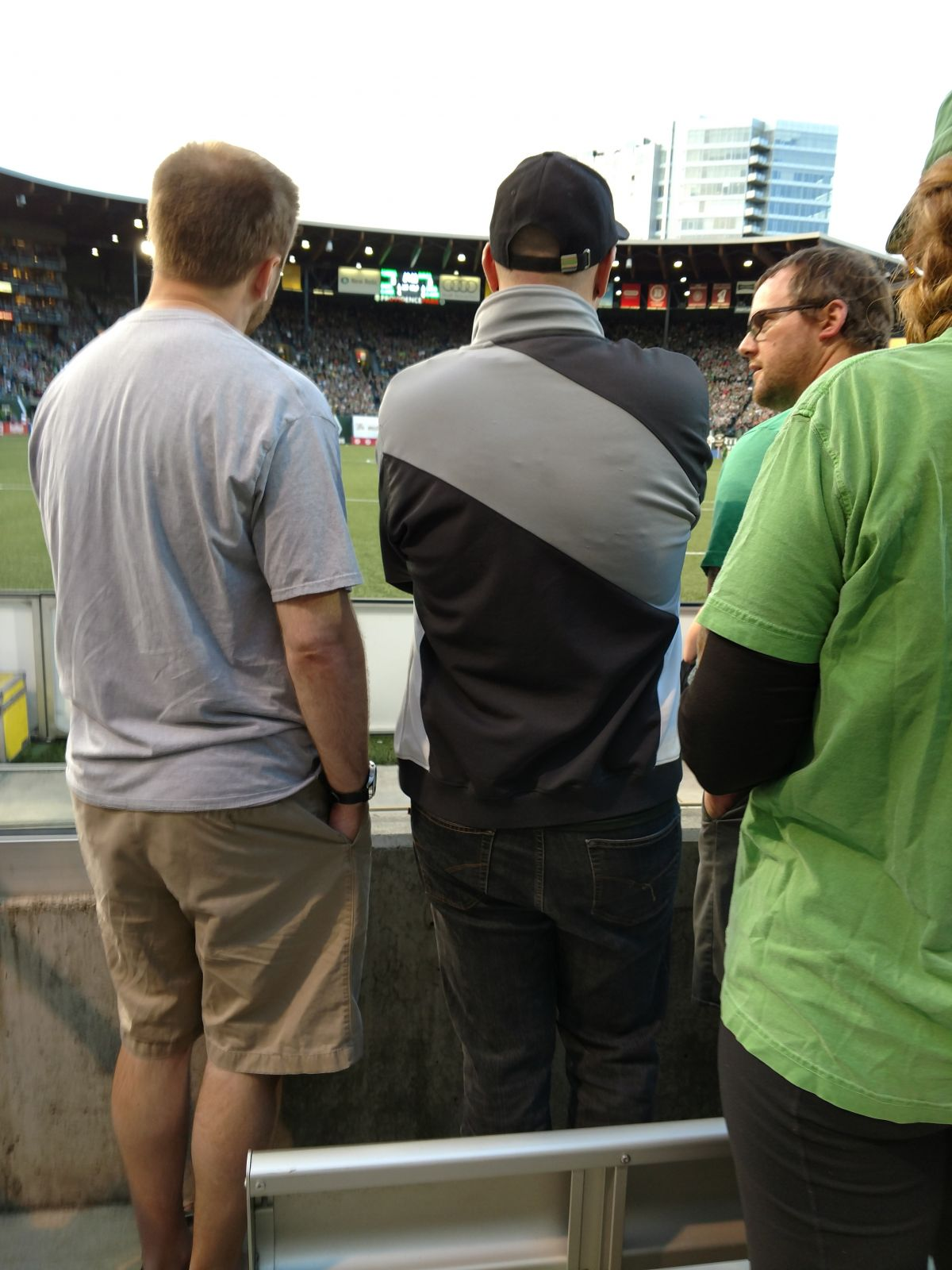 Seat View for Providence Park South Deck 3, Row C, Seat 1
