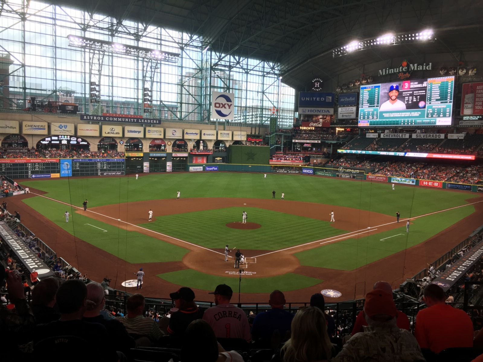 Minute Maid Park Standing Room Only