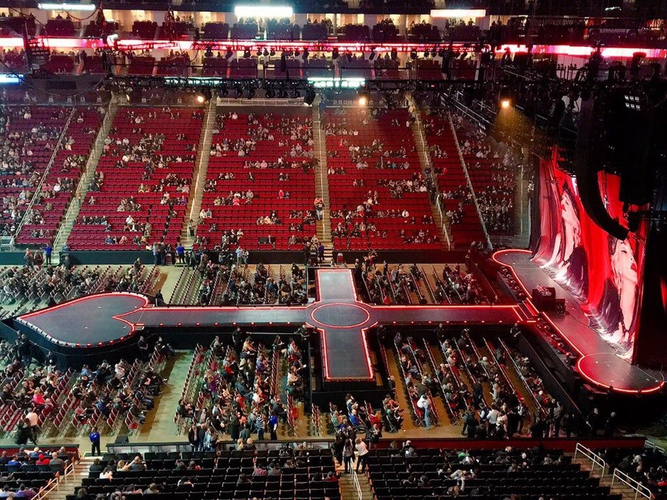 Concert Seat View For Toyota Center Section 409 ...
