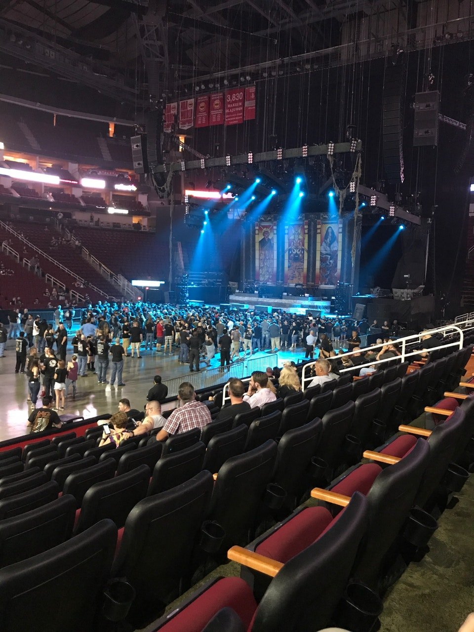 Toyota Center Section 108 Concert Seating Rateyourseats Com