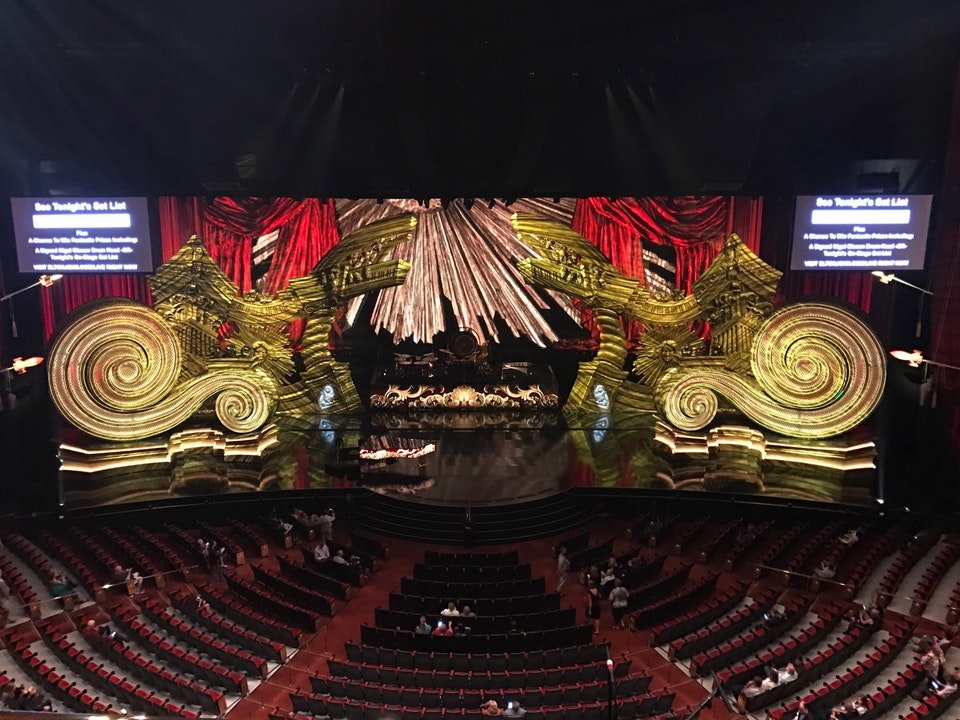 Concert Seat View for The Colosseum at Caesars Palace First Mezzanine 4