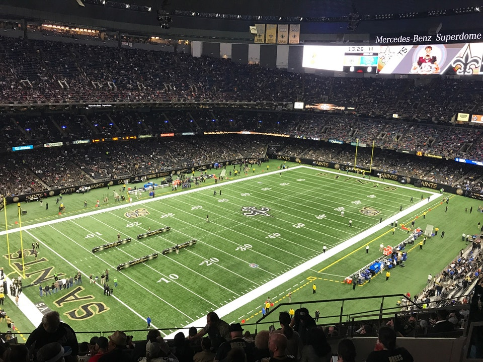 Superdome upper box seats for Mercedes benz new orleans service