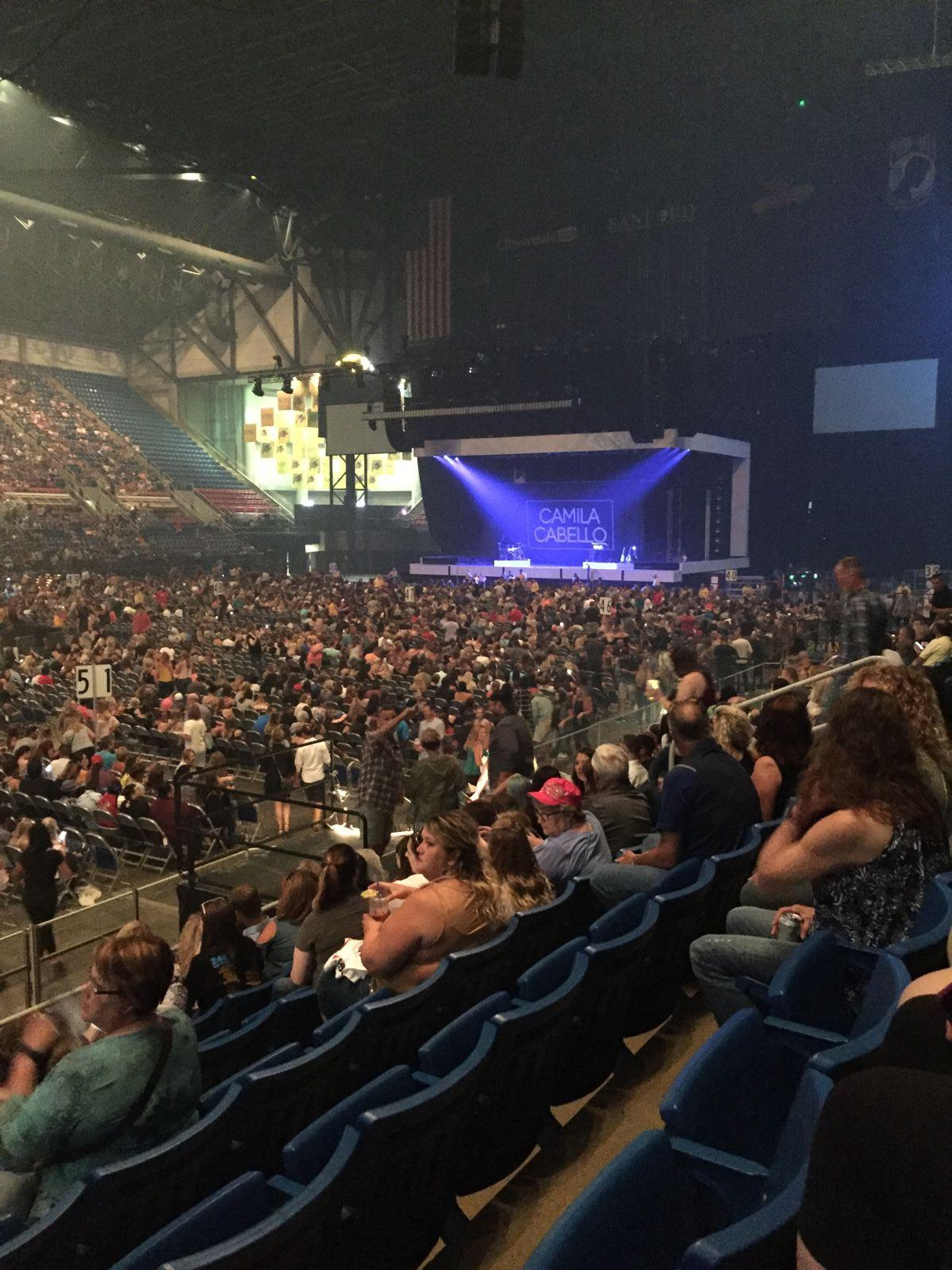 Concert Seat View for Fargodome Section 3, Row G, Seat 13