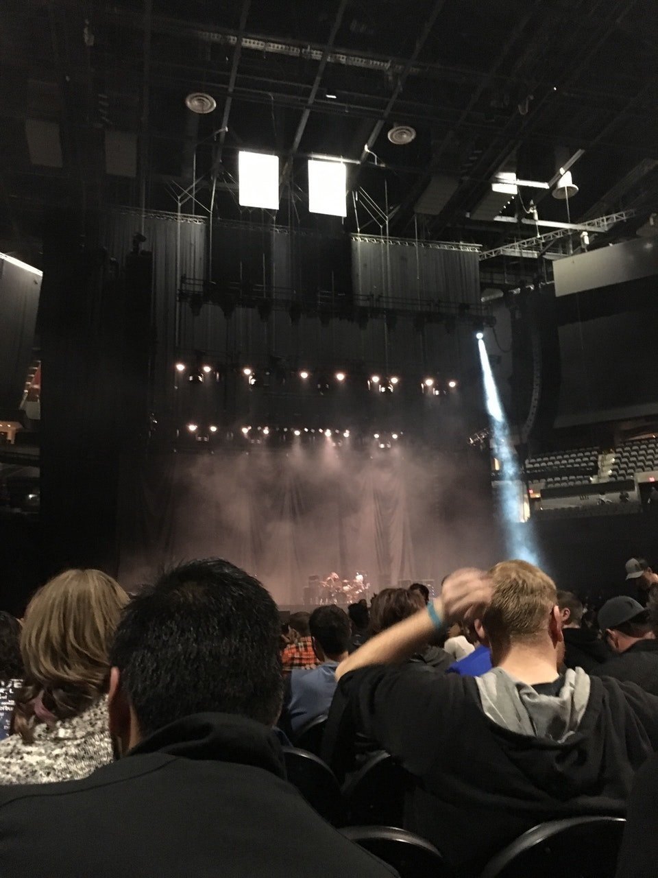 Concert Seat View for AT&T Center Floor 4