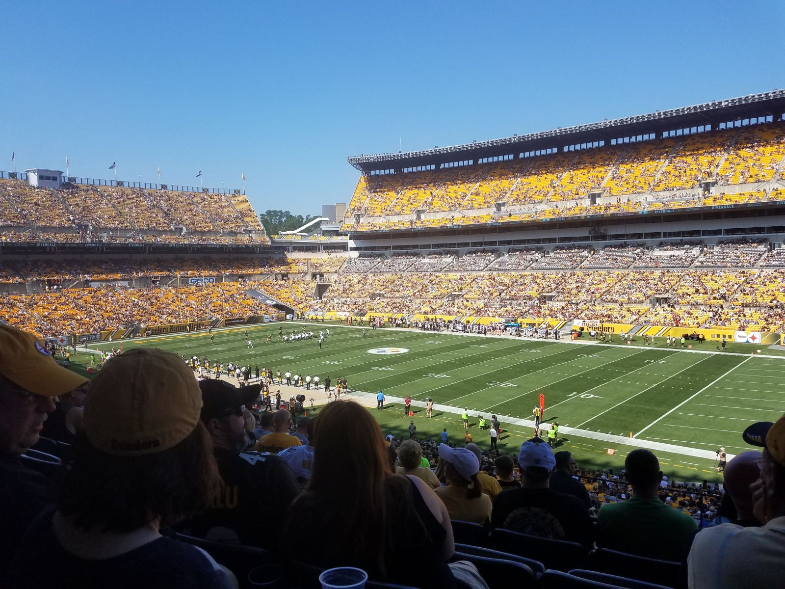 Seat View for Heinz Field Section 239, Row H, Seat 4