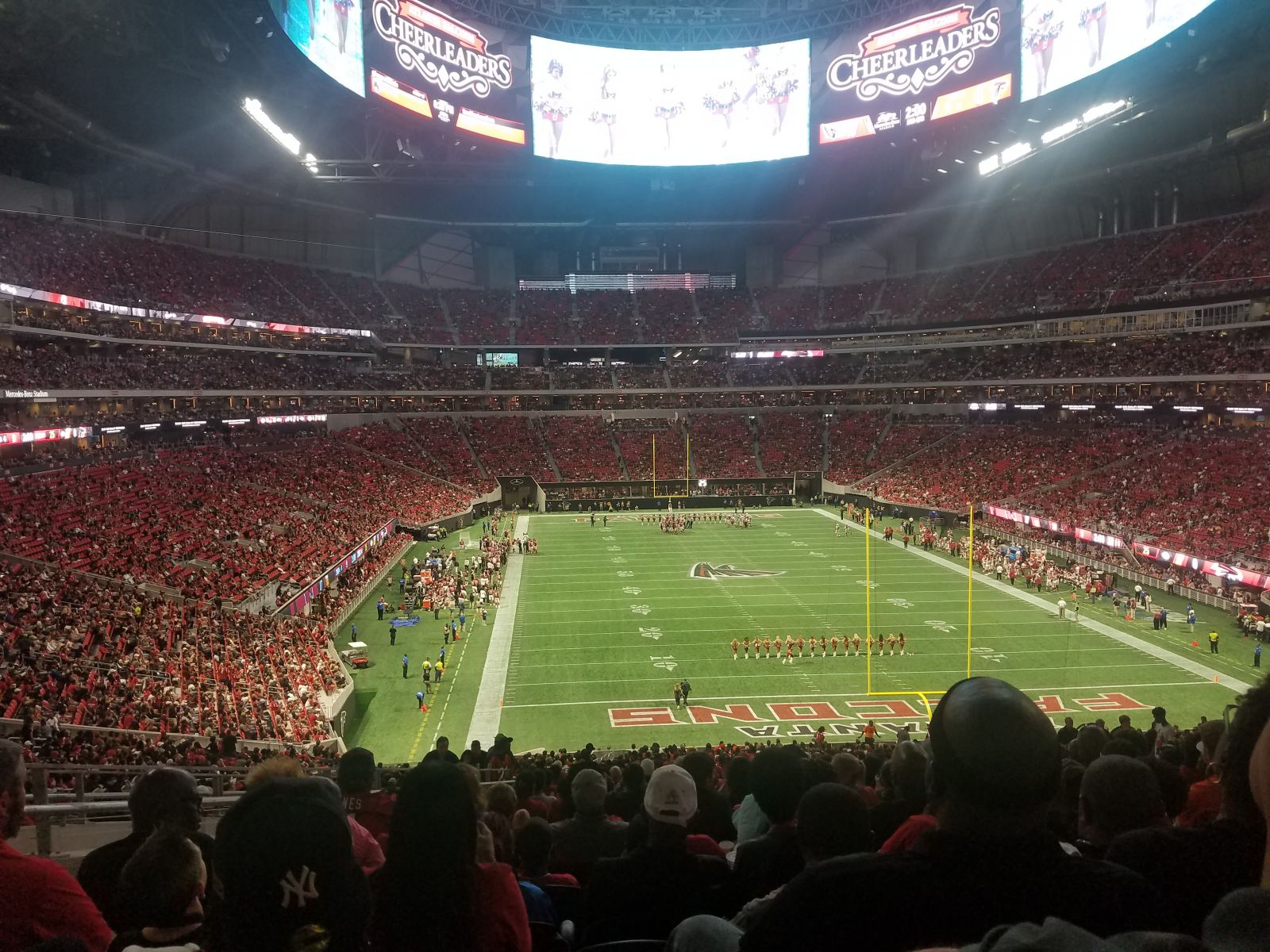 Good view of the halo board mercedes benz stadium section for View from my seat mercedes benz stadium