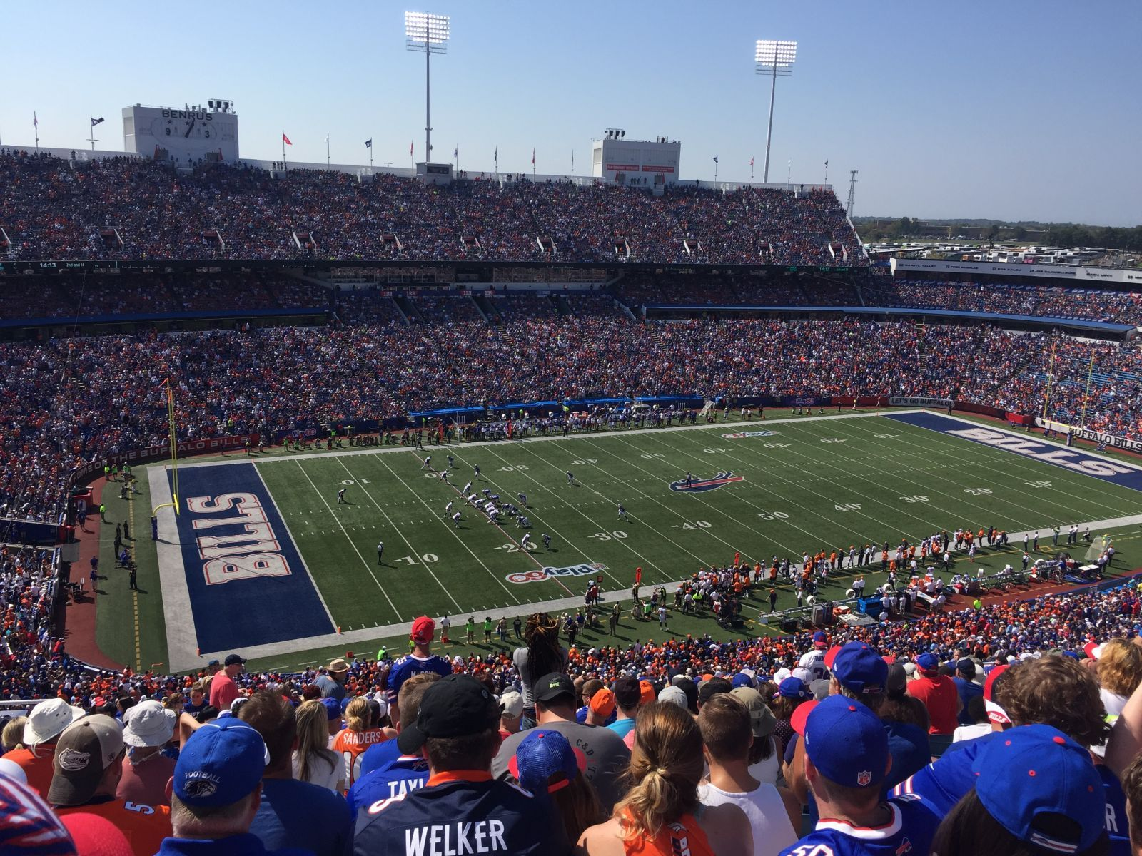 Section 315 seat view