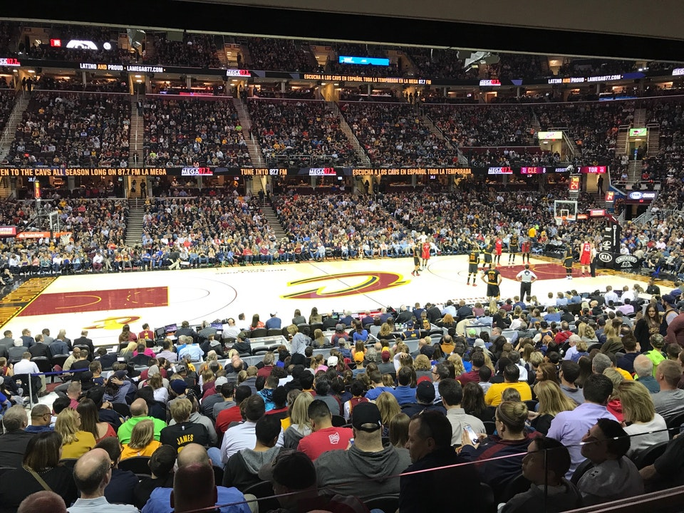 Quicken Loans Arena Section 125 Cleveland Cavaliers