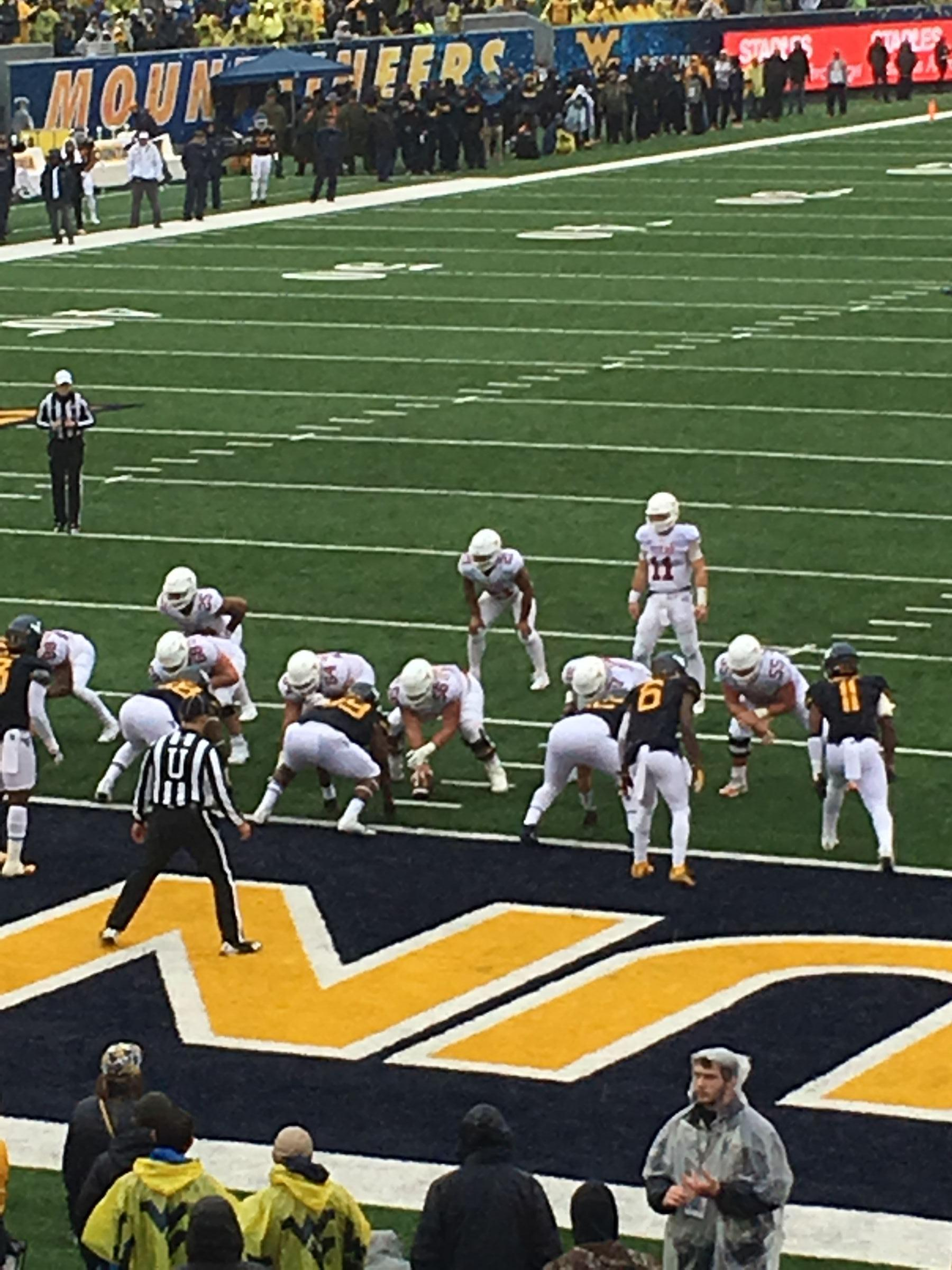 Seat View for Mountaineer Field Section 98, Row 21, Seat 15