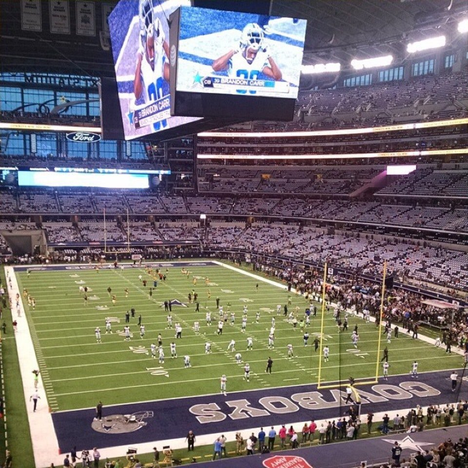 AT&T Stadium West SRO Dallas Cowboys