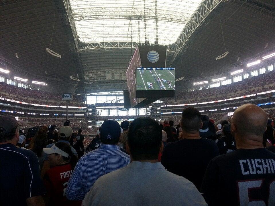 At Amp T Stadium West Sro Dallas Cowboys Rateyourseats Com
