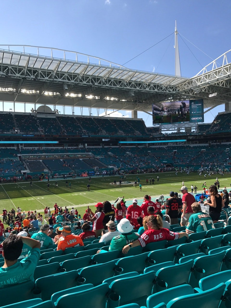 74ddfb99 Hard Rock Stadium Section 121 - Miami Dolphins - RateYourSeats.com