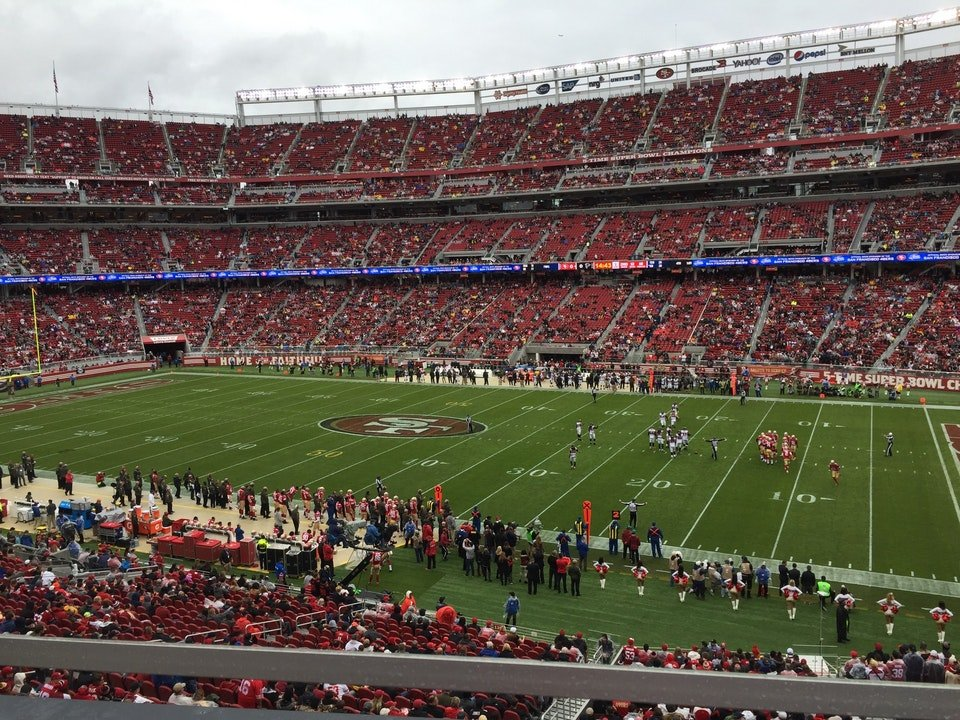 Section C212 seat view