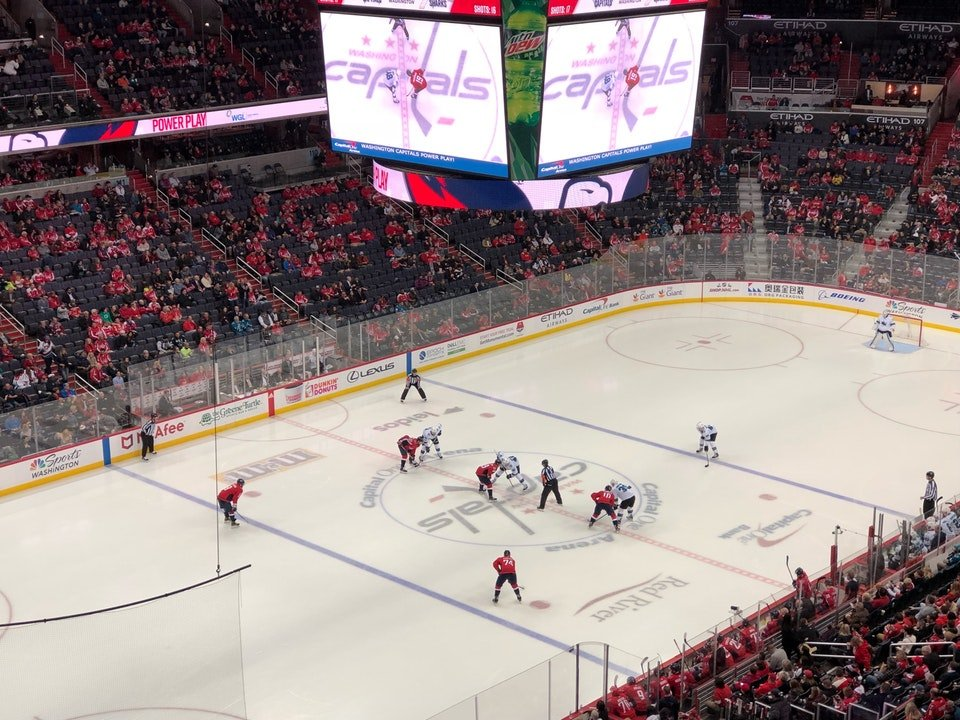 seat view for a Blackhawks game