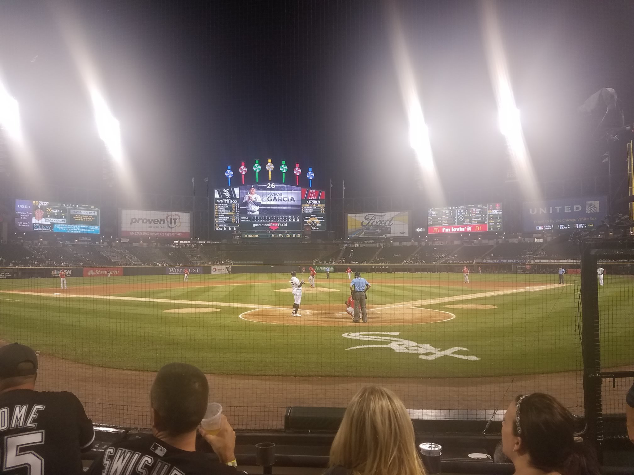 Seat View for Guaranteed Rate Field Scout Seats 133