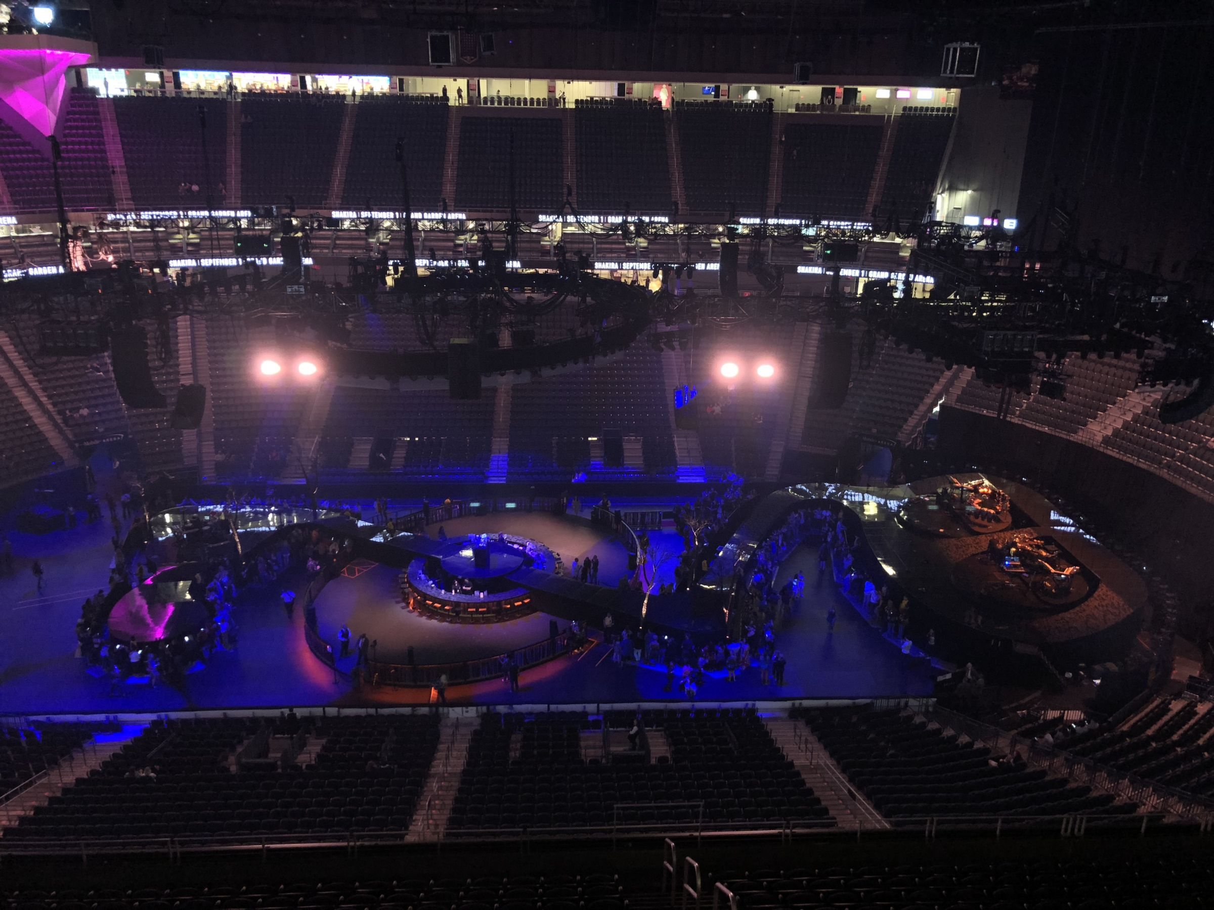 T-Mobile Arena Section 223 Concert Seating - RateYourSeats com