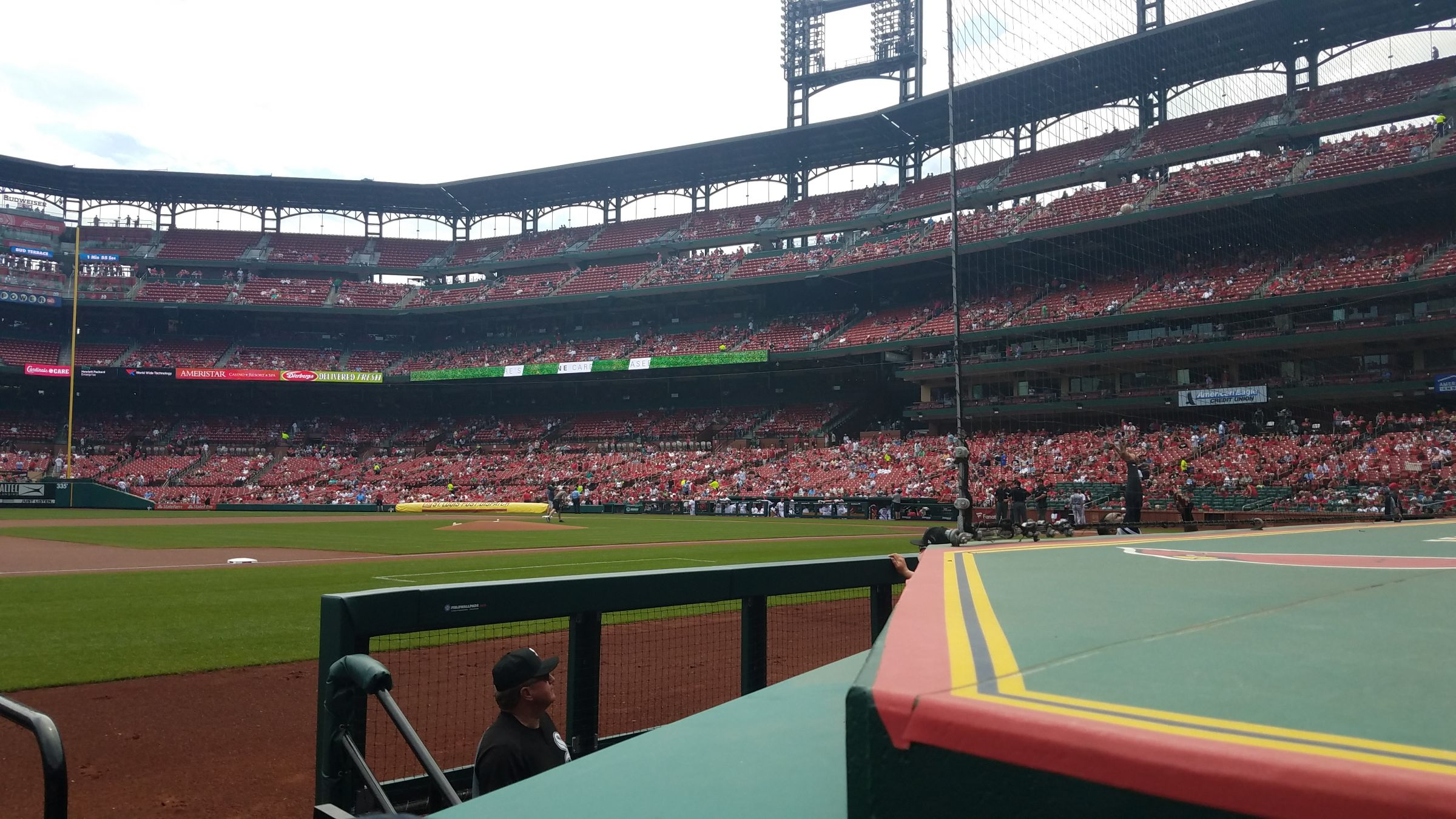 Seat View for Busch Stadium Section 158, Row B