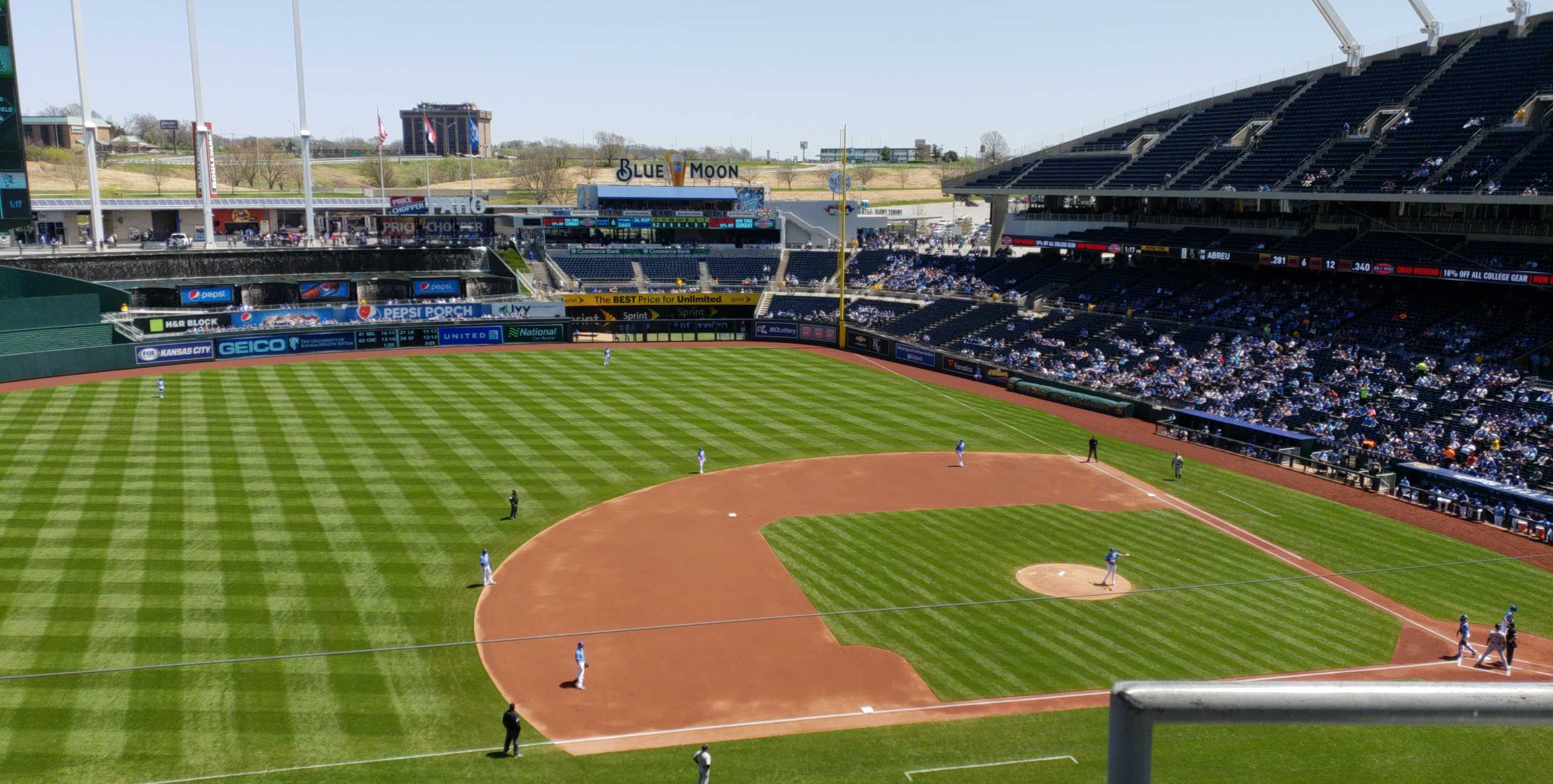 Section 410 seat view