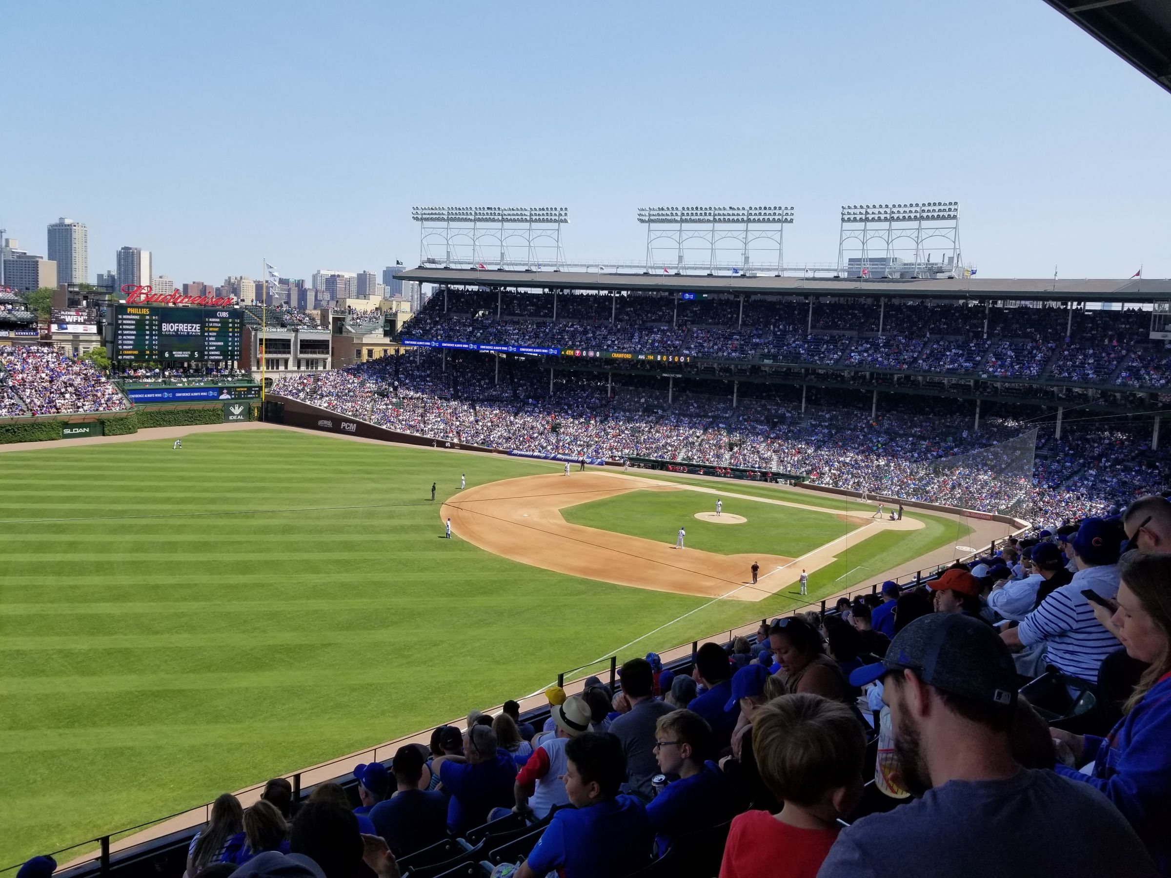 Seat View for Wrigley Field Section 304, Row 10, Seat 6