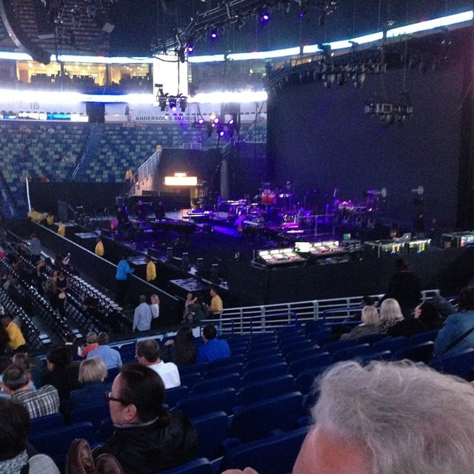 Section 123 seat view