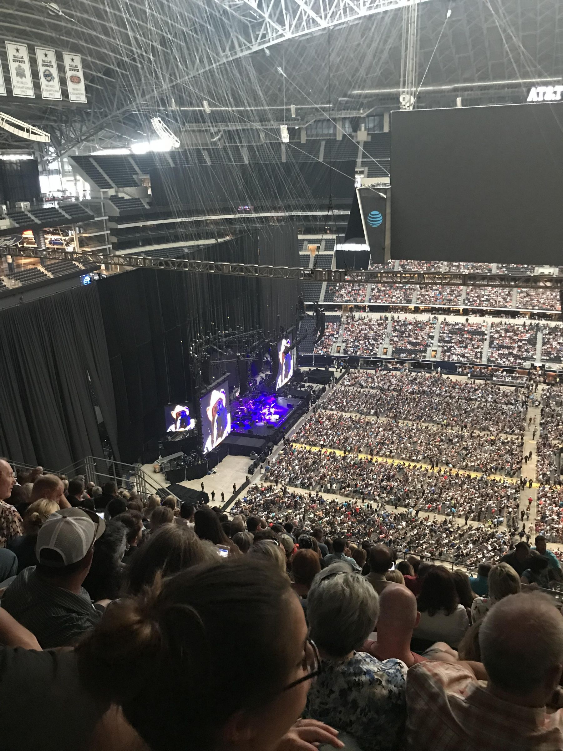 Concert Seat View for AT&T Stadium Section 443, Row 22, Seat 4