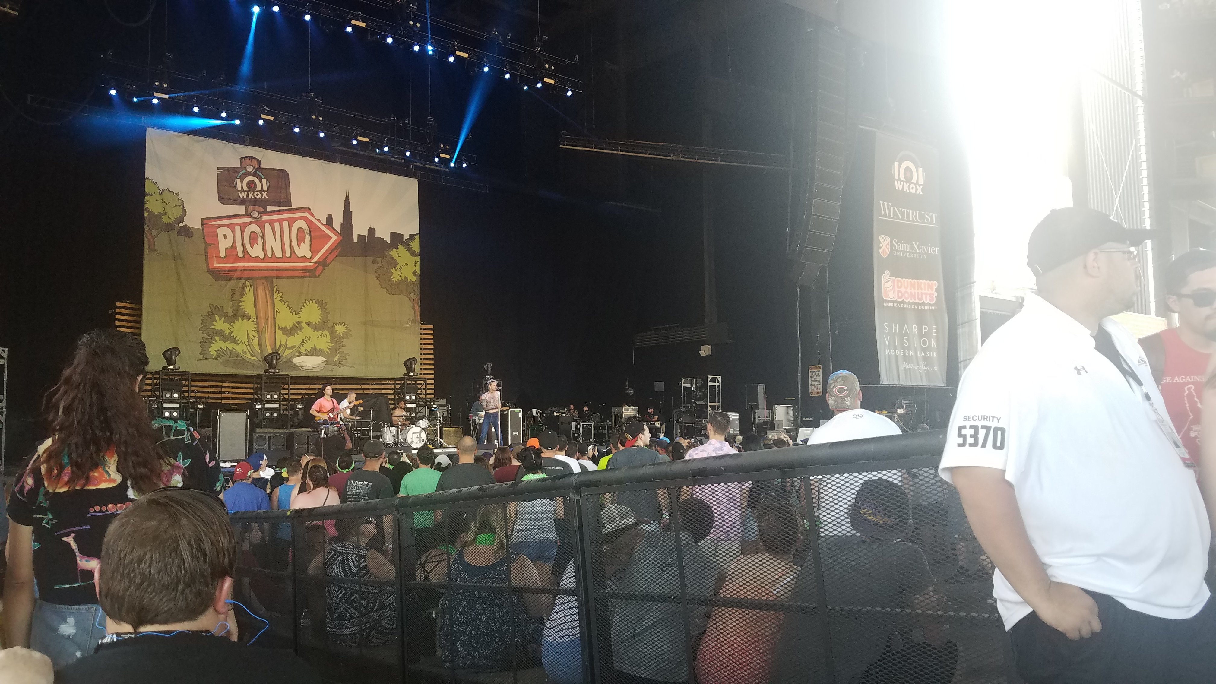 Concert Seat View for Hollywood Casino Amphitheatre Section 104, Row Q, Seat 2