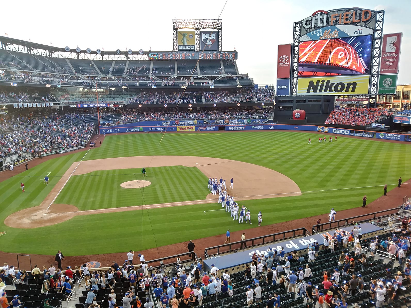 Seat View for Citi Field Section 313, Row 1, Seat 1