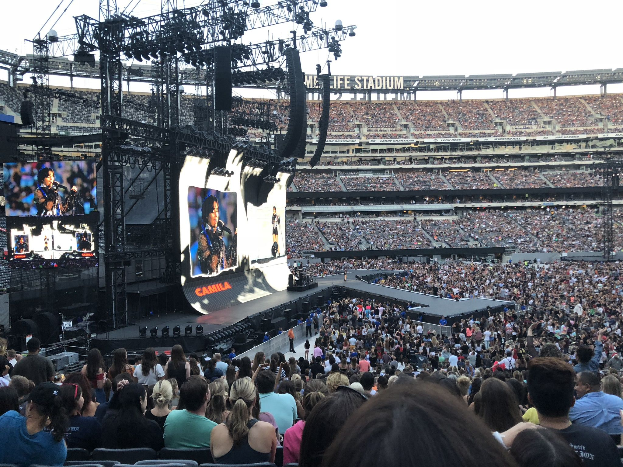 Concert Seat View for MetLife Stadium Section 142, Row 31, Seat 20