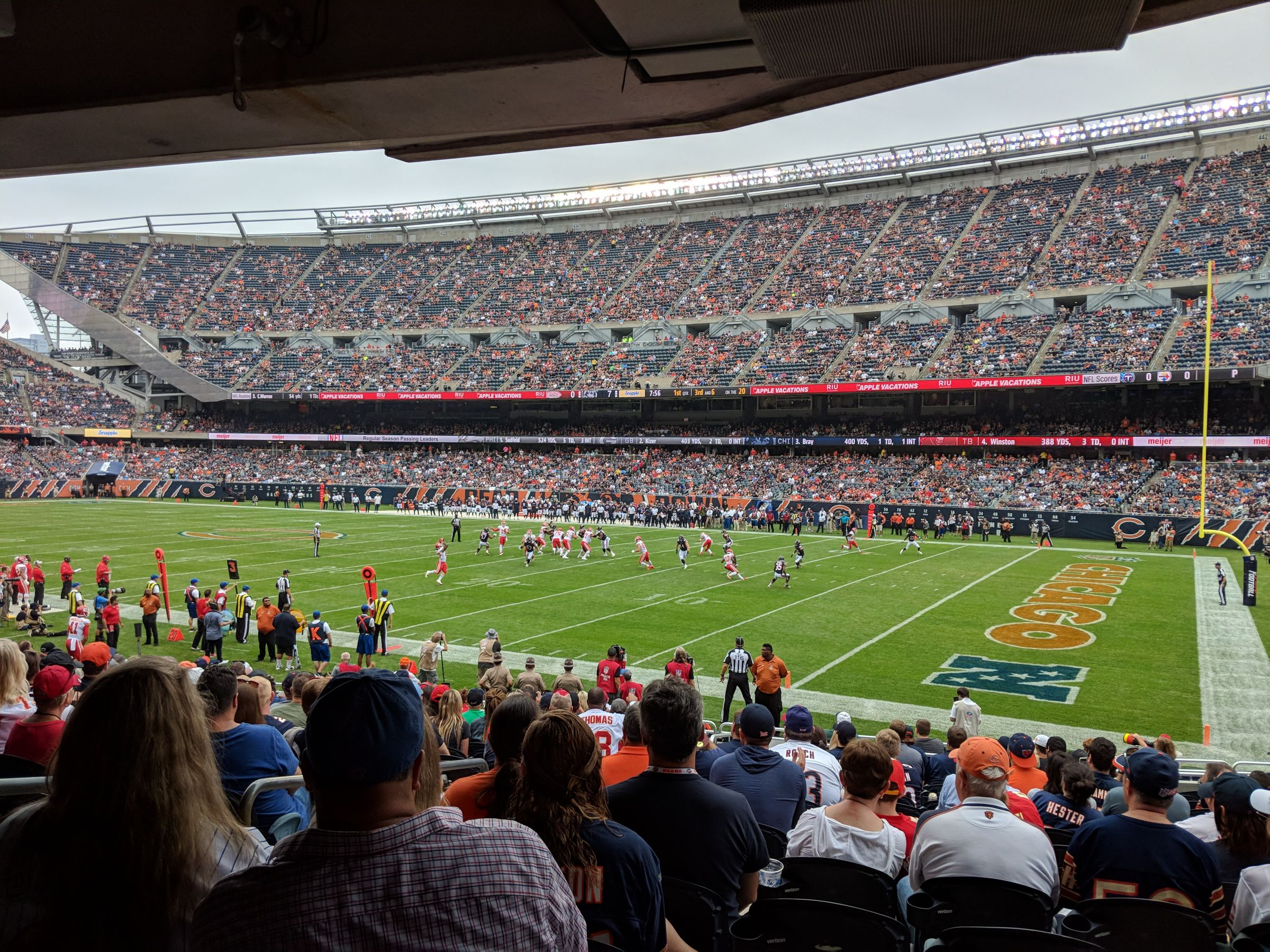 Seat View for Soldier Field Section 103, Row 16, Seat 1