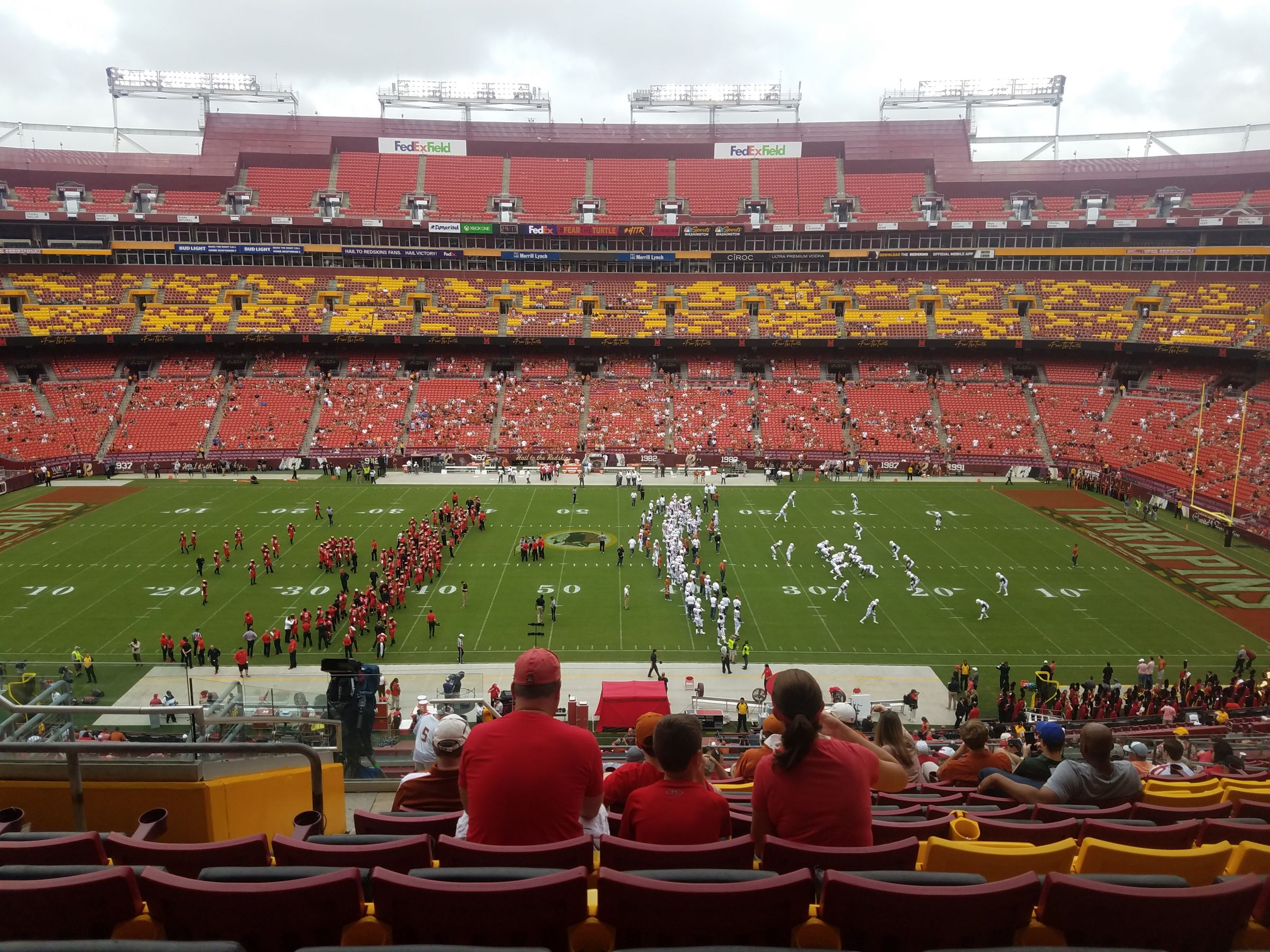 Seat View for FedExField Zone A Club 342, Row 19, Seat 18