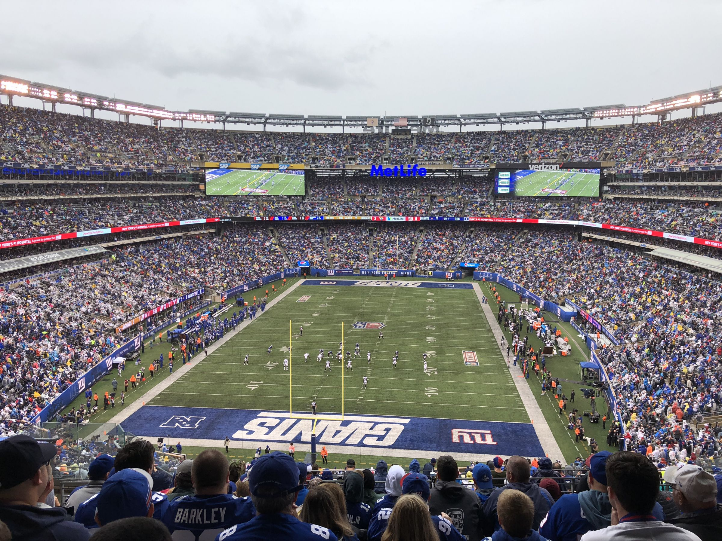 Section 250B seat view