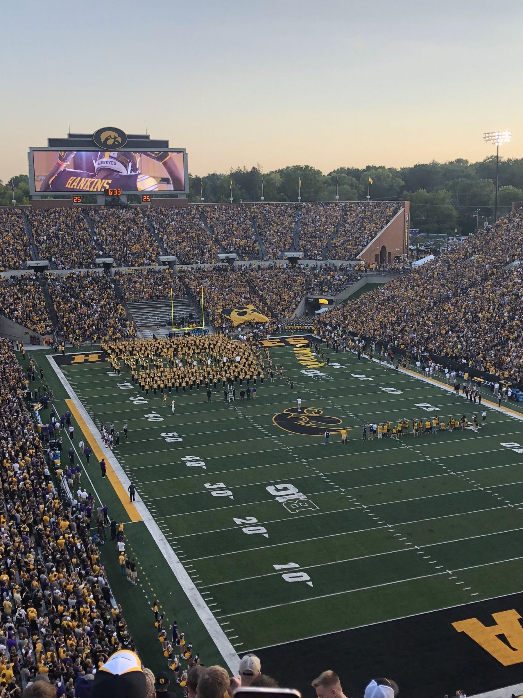 Seat View for Kinnick Stadium Section 339, Row 14, Seat 3