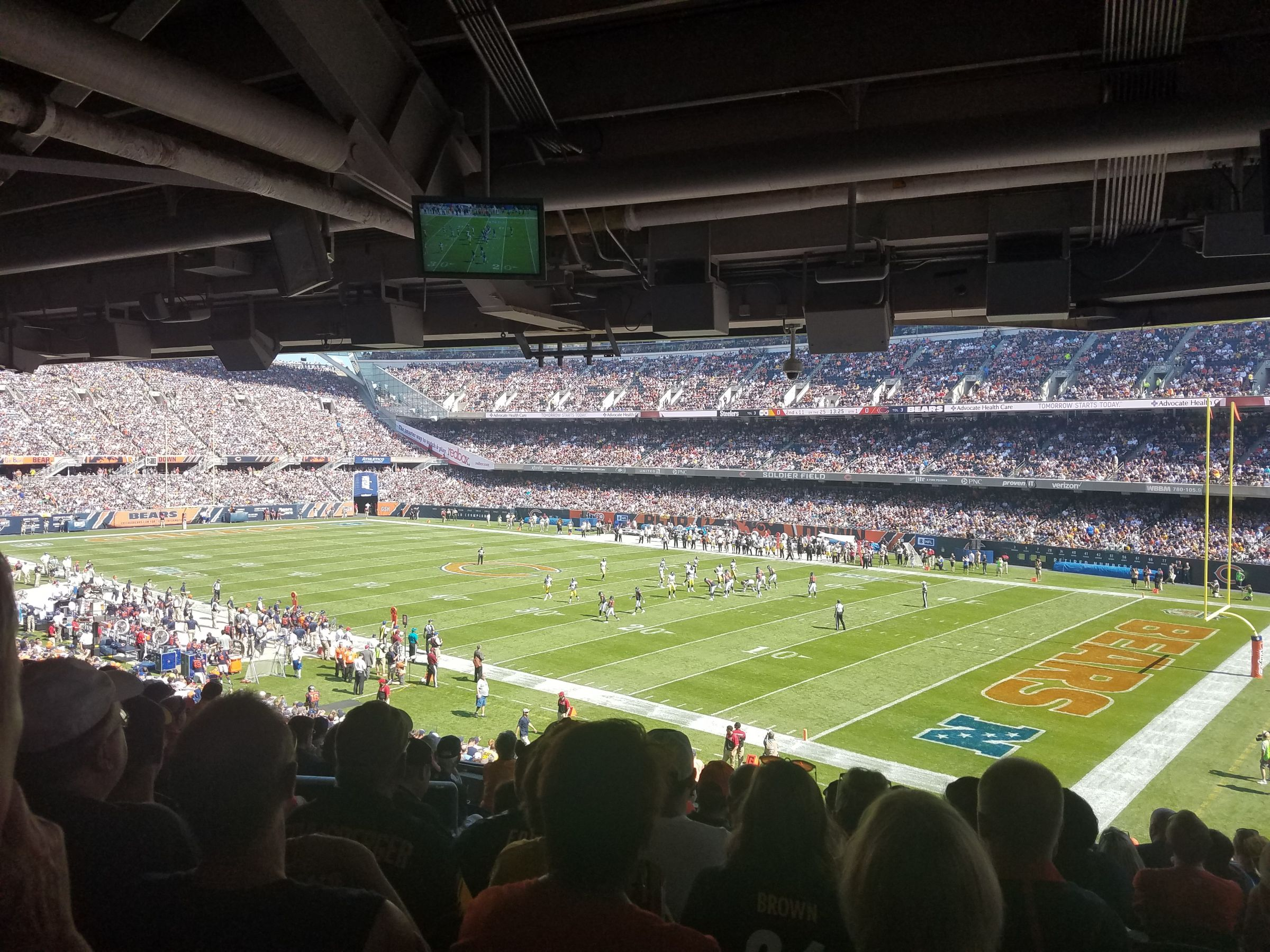 Seat View for Soldier Field Section 230, Row 10
