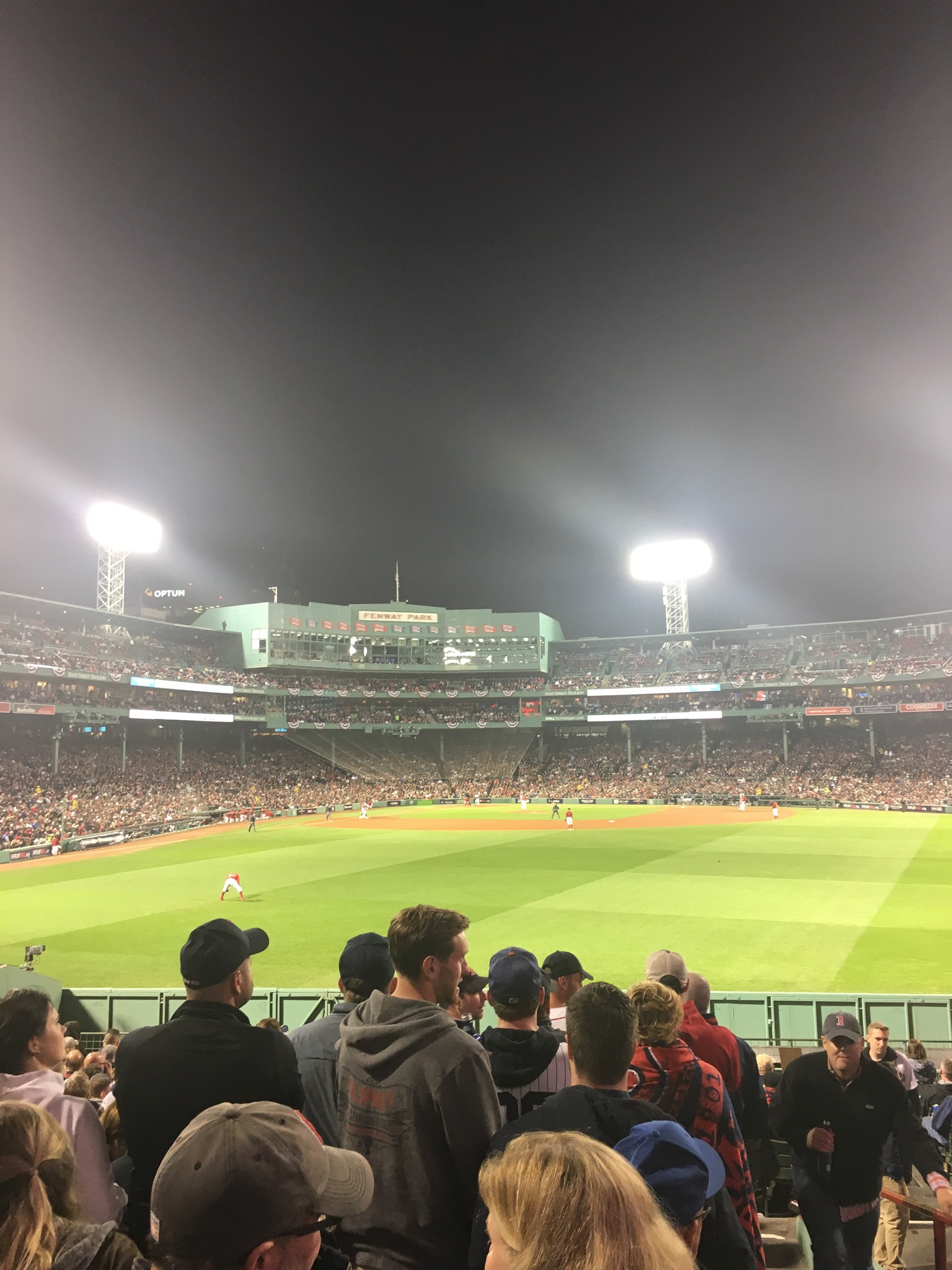 Seat View for Fenway Park Bleachers 41, Row 21, Seat 1
