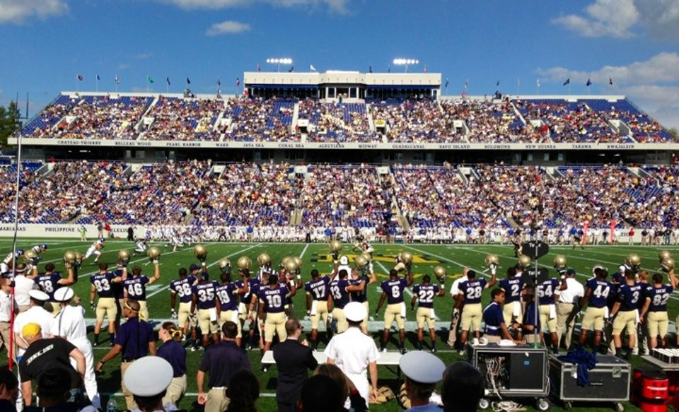 Seat View for Navy-Marine Corps Stadium Section 5, Row C