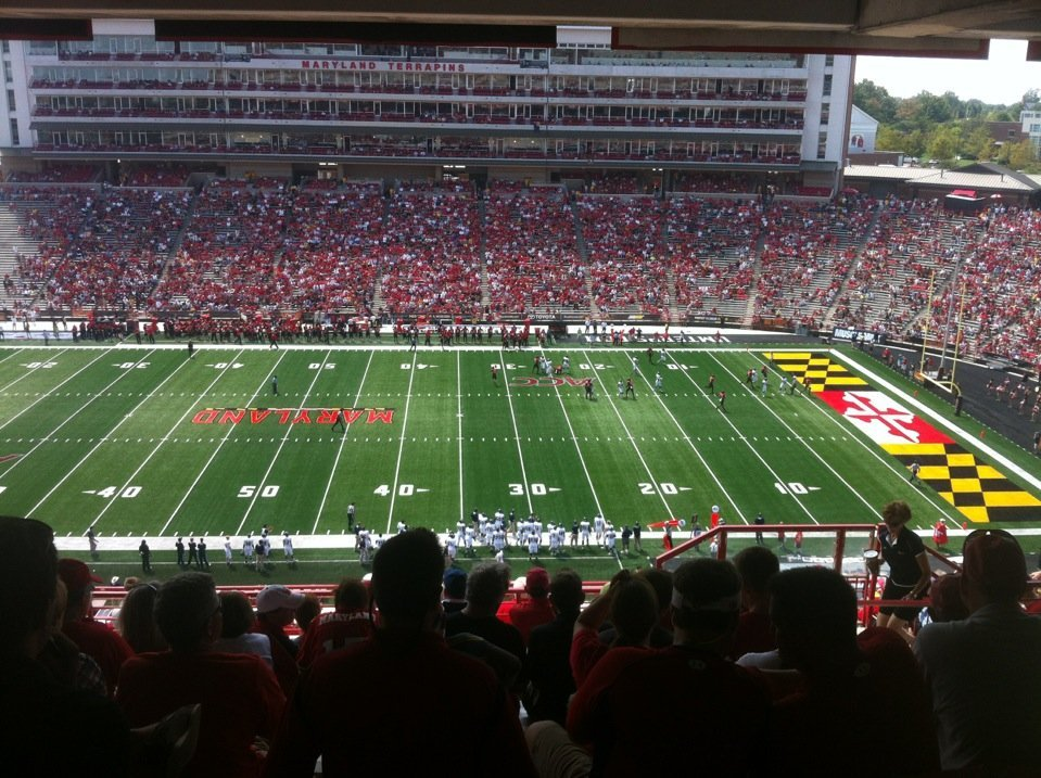 Seat View for Maryland Stadium Section 207