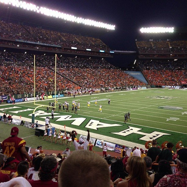 Seat View for Aloha Stadium Orange DD