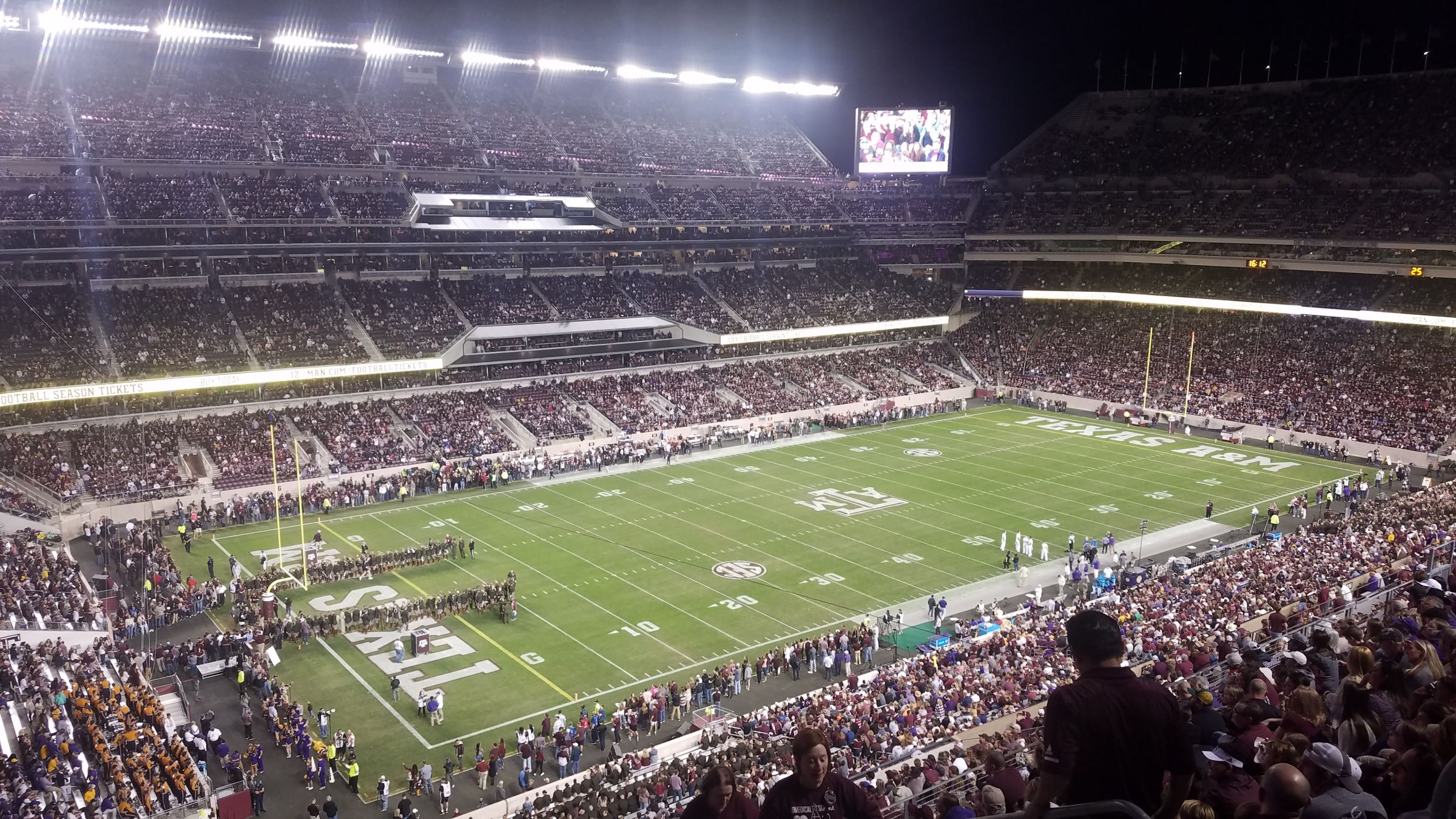 Section 340 seat view