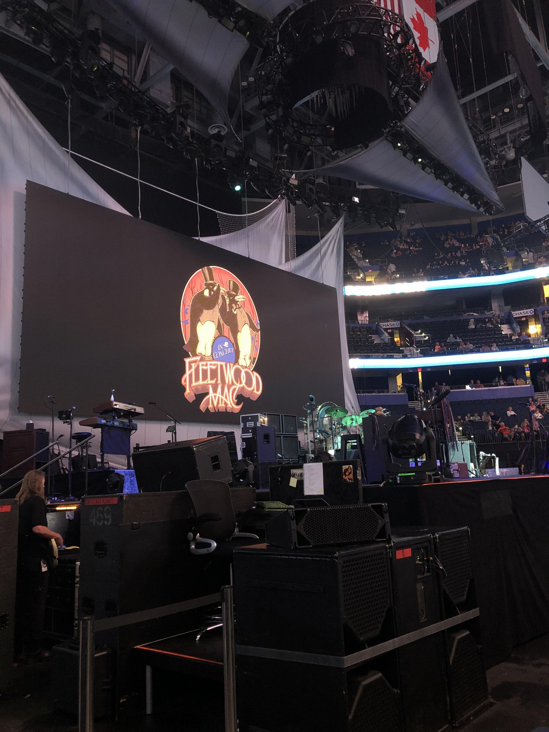 Concert Seat View for Amalie Arena Section 118, Row A