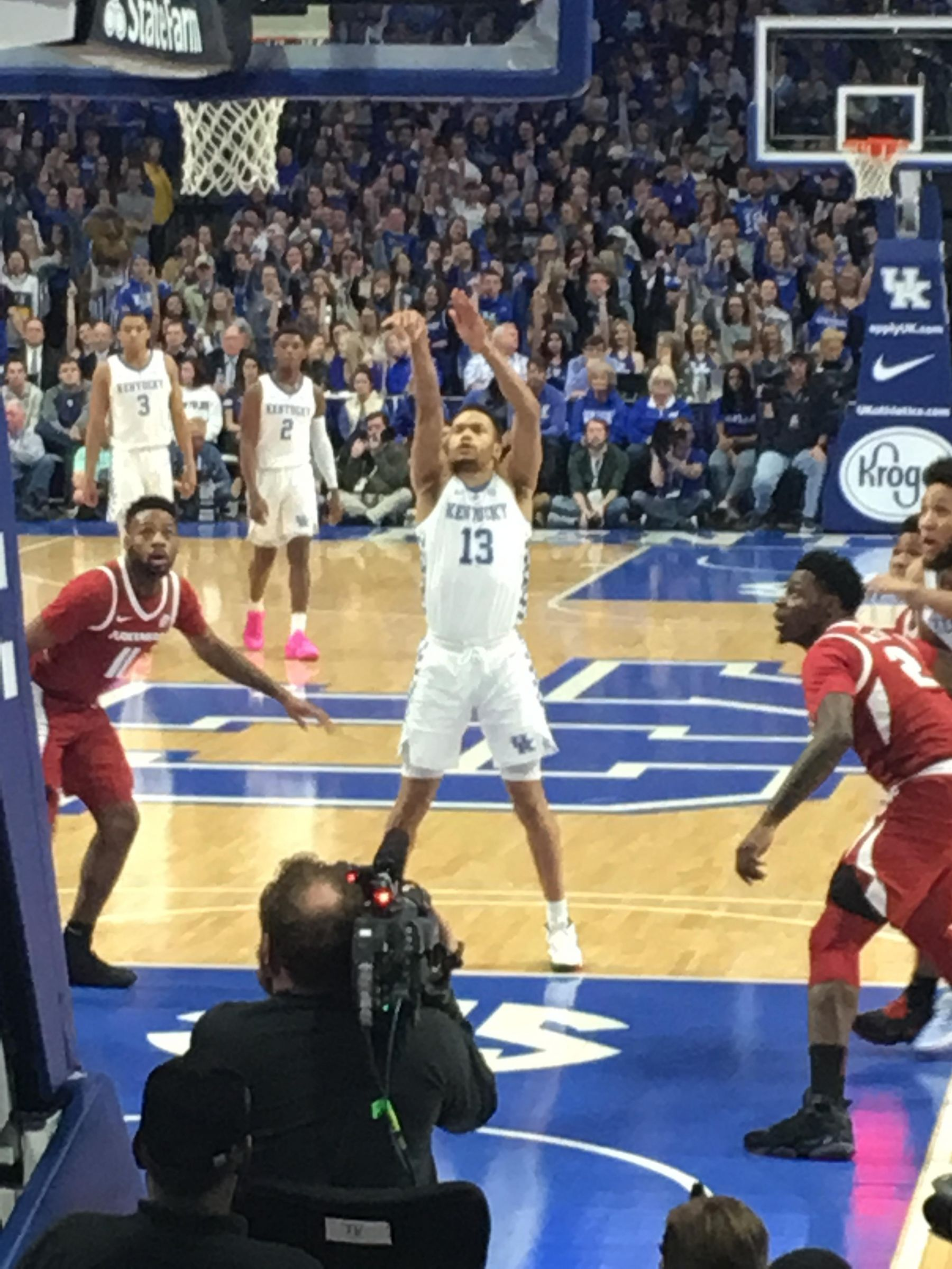 Seat View for Rupp Arena Section 22, Row GG