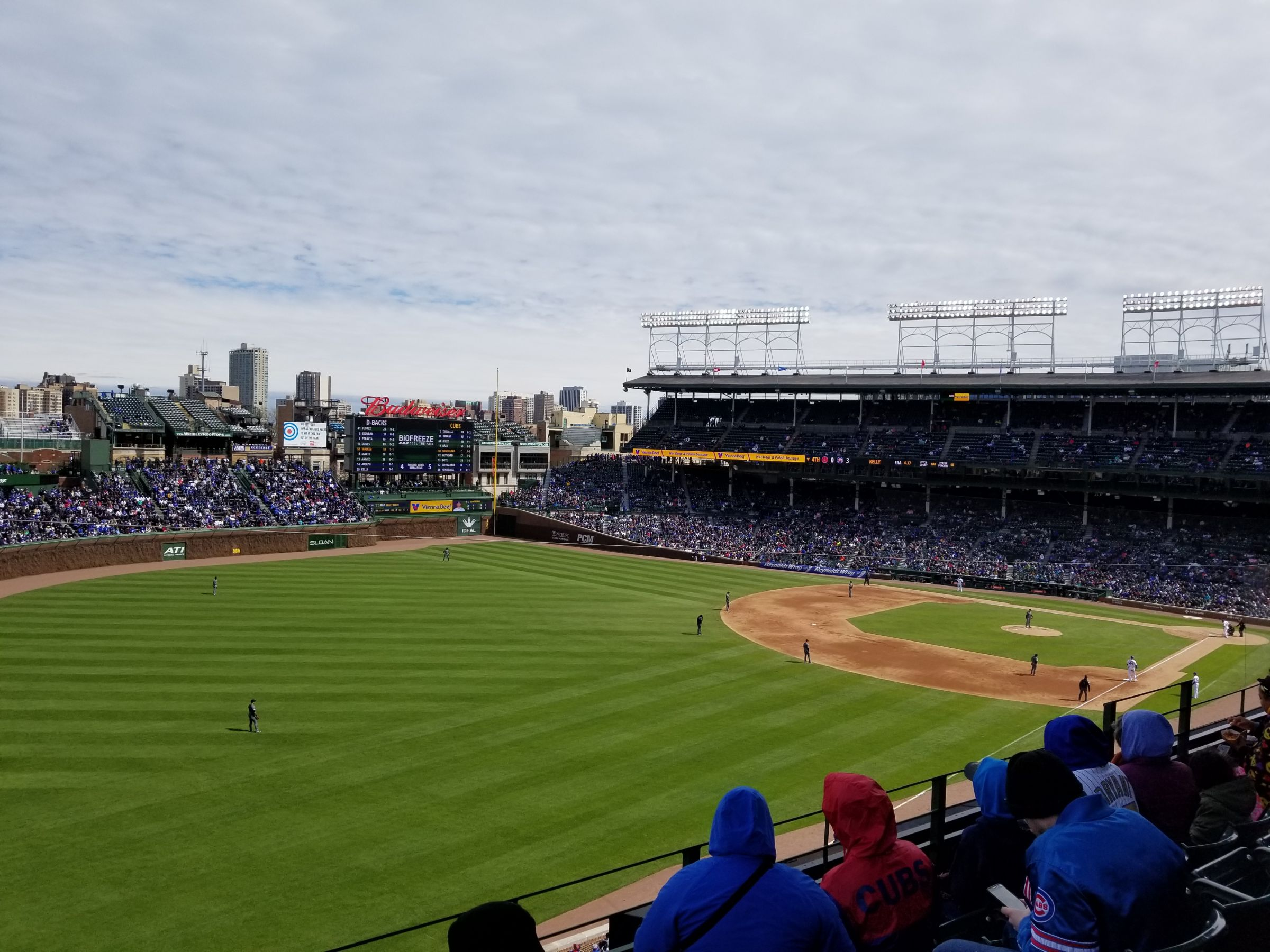 Seat View for Wrigley Field Section 303, Row 4, Seat 1