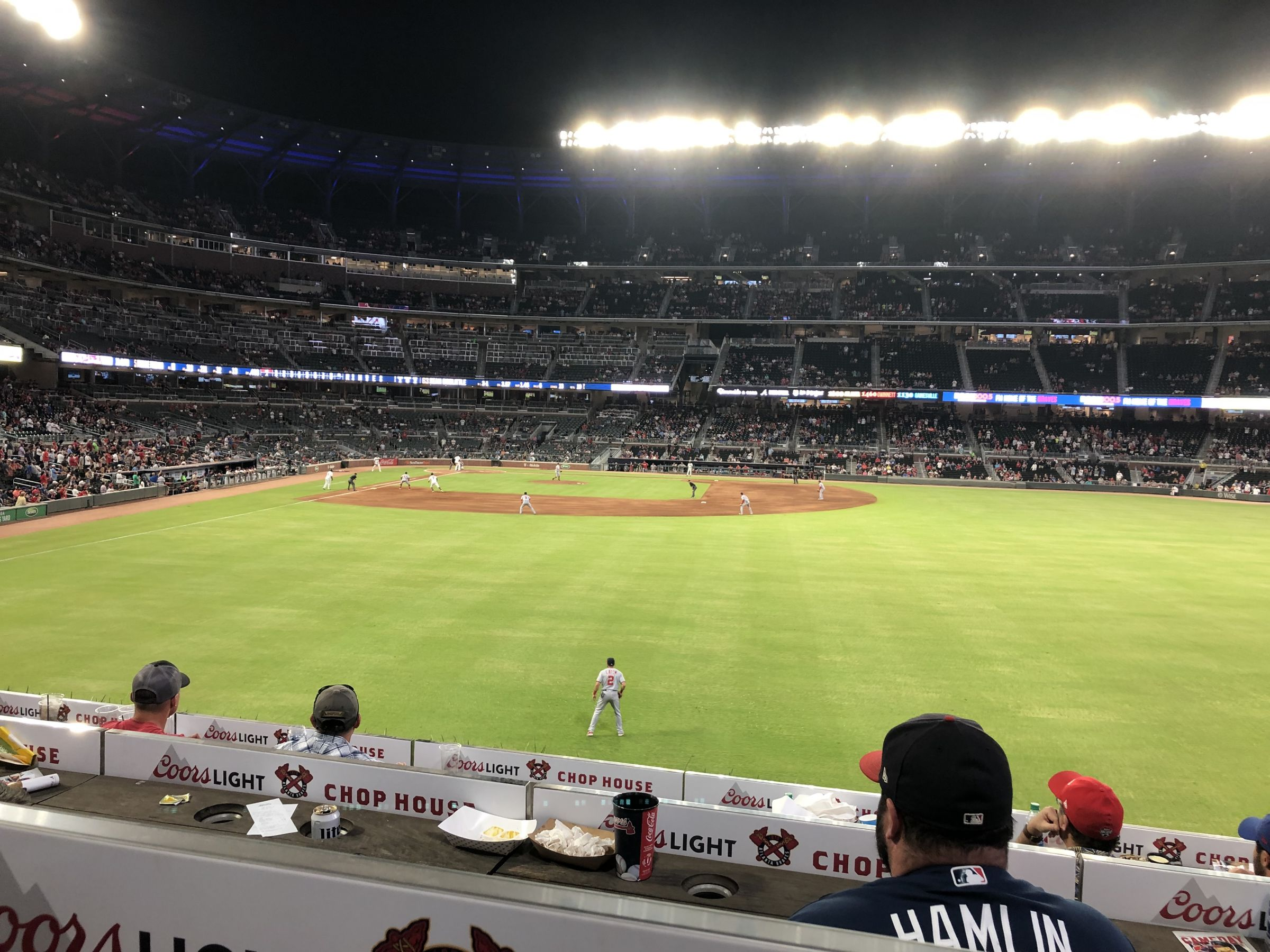 Section 157 seat view