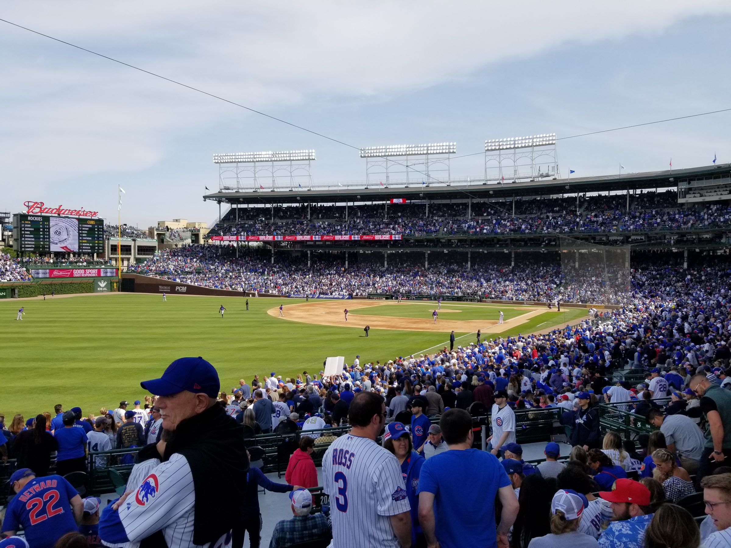 Seat View for Wrigley Field Section 203, Row 9, Seat 21