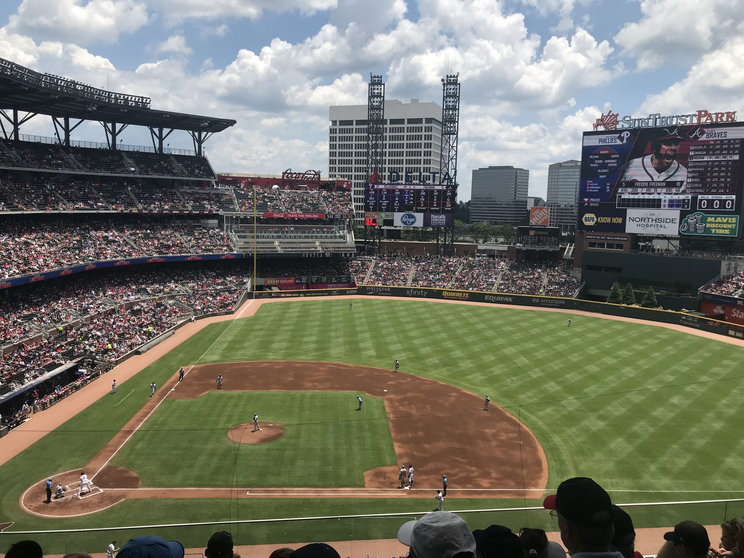 Section 320 seat view