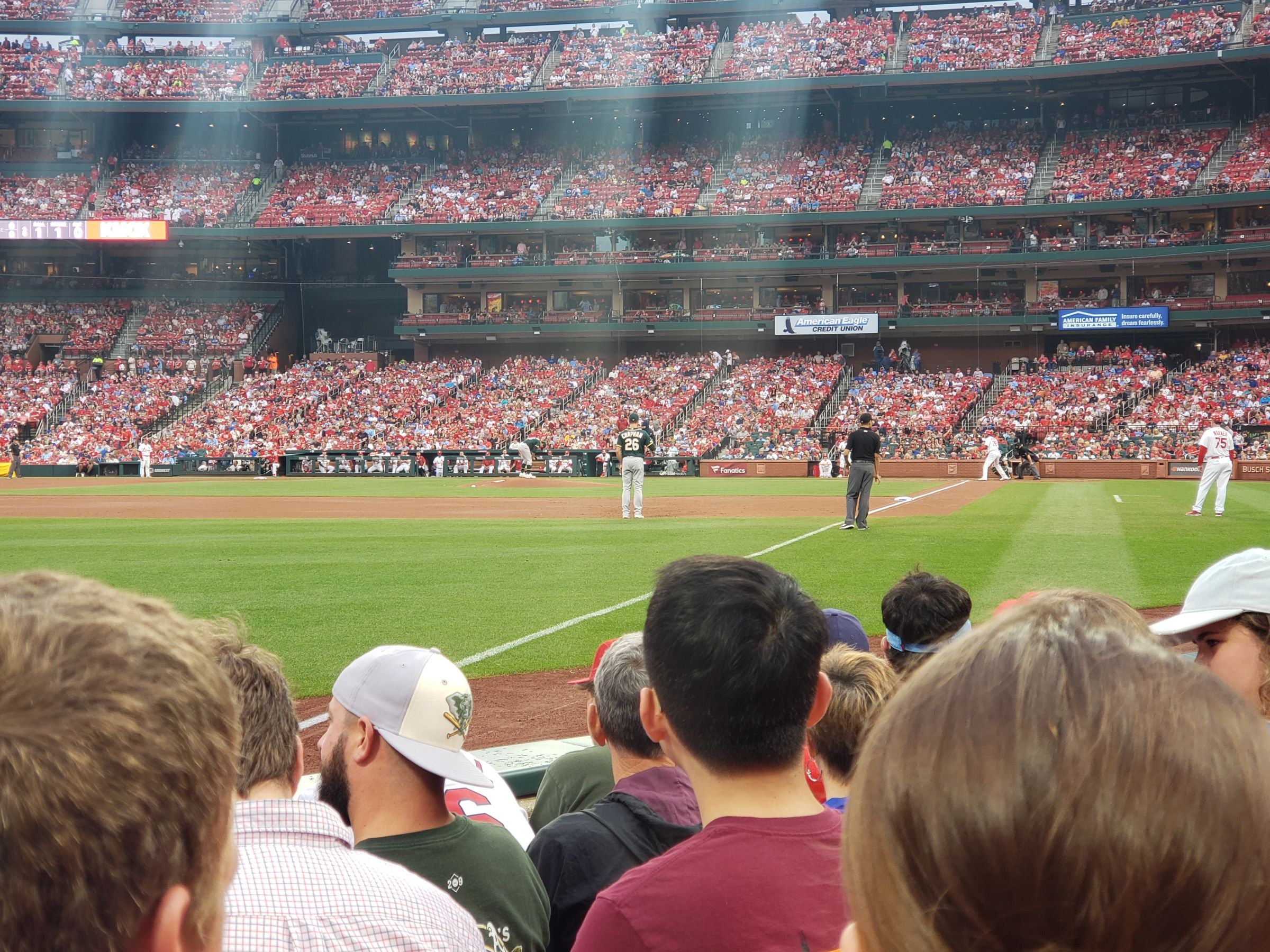 Seat View for Busch Stadium Section 165, Row E, Seat 10