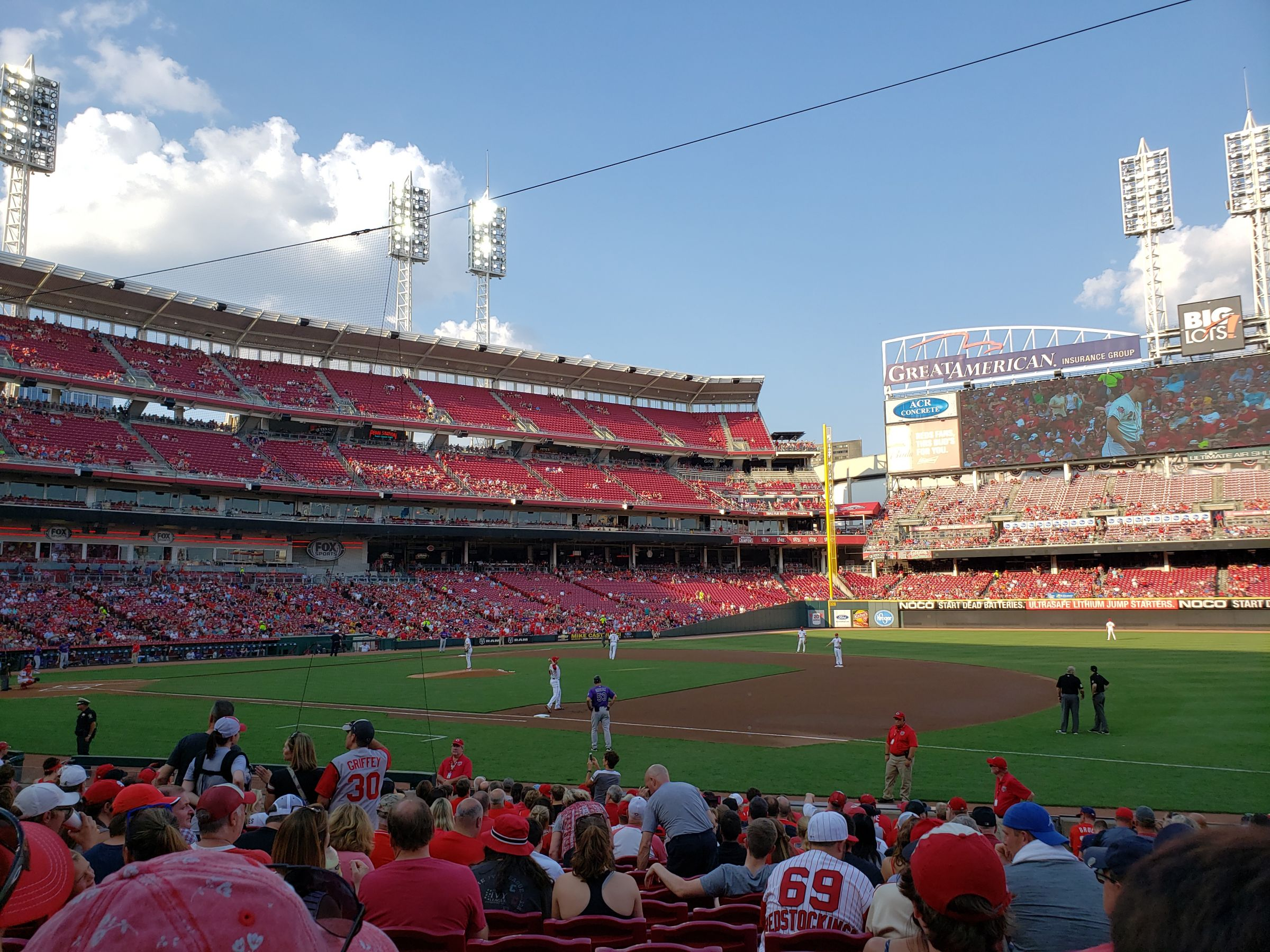 Section 132 seat view