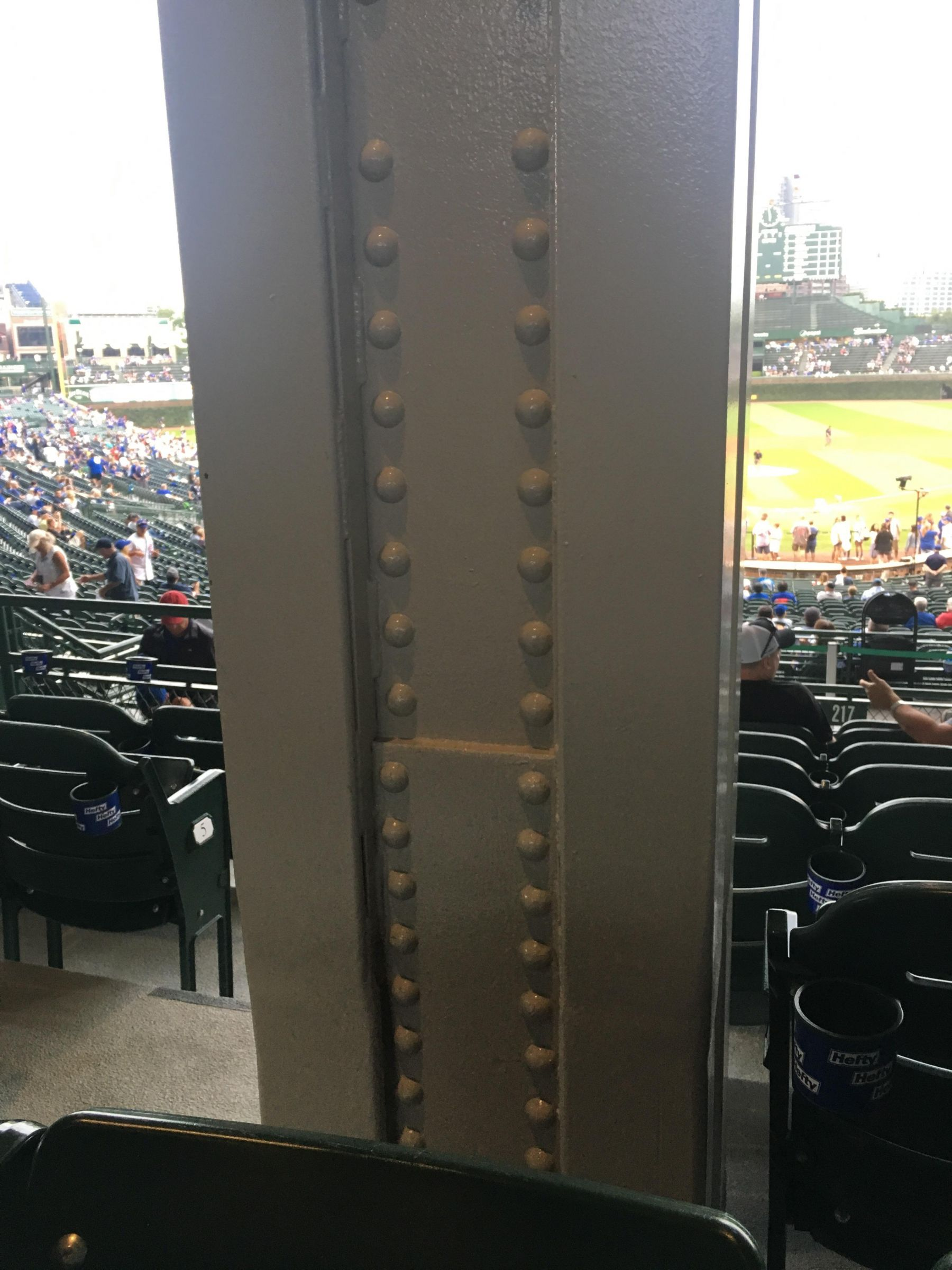 Seat View for Wrigley Field Section 217, Row 7, Seat 1