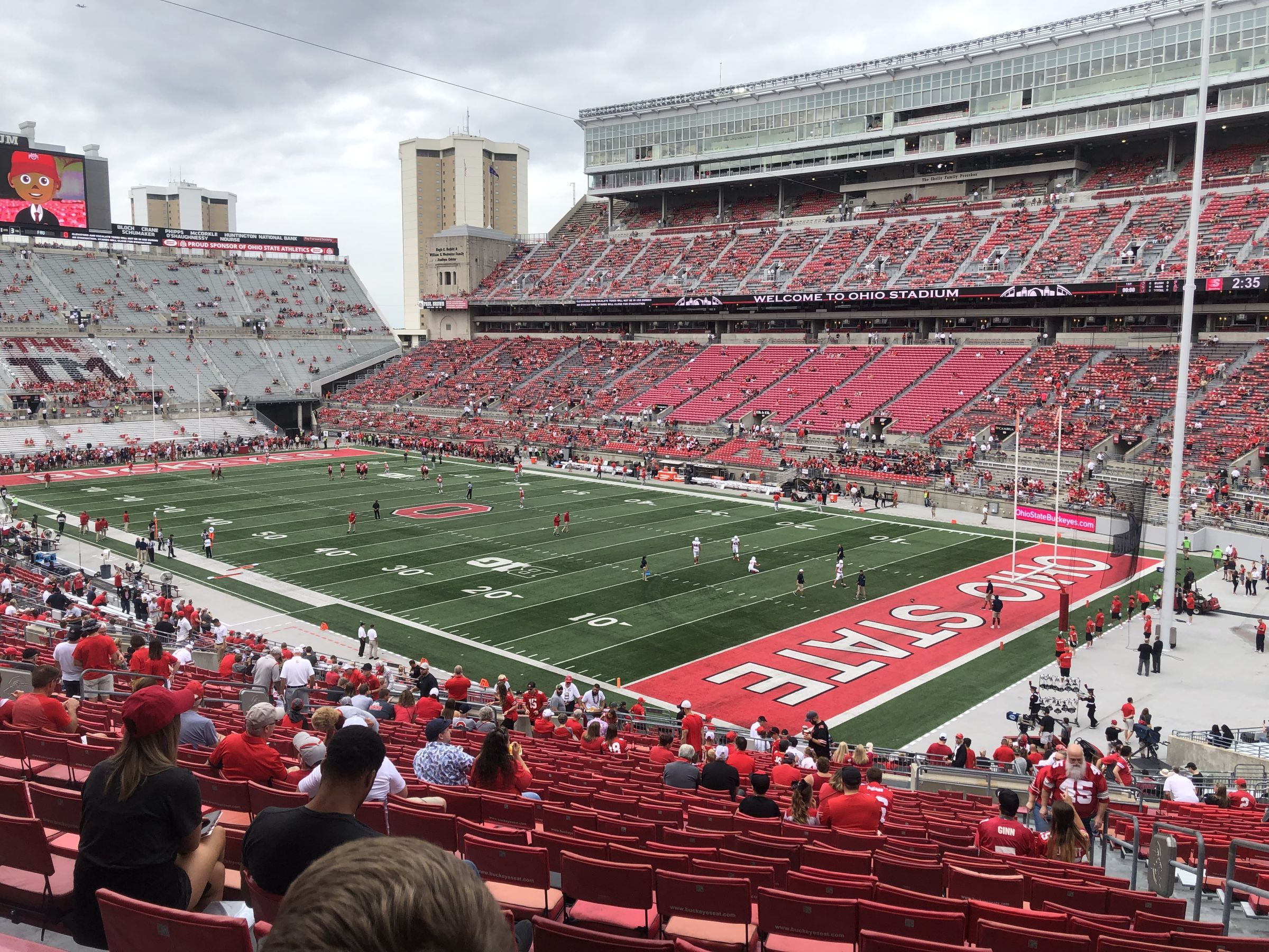 Seat View for Ohio Stadium Section 12A, Row 34, Seat 3