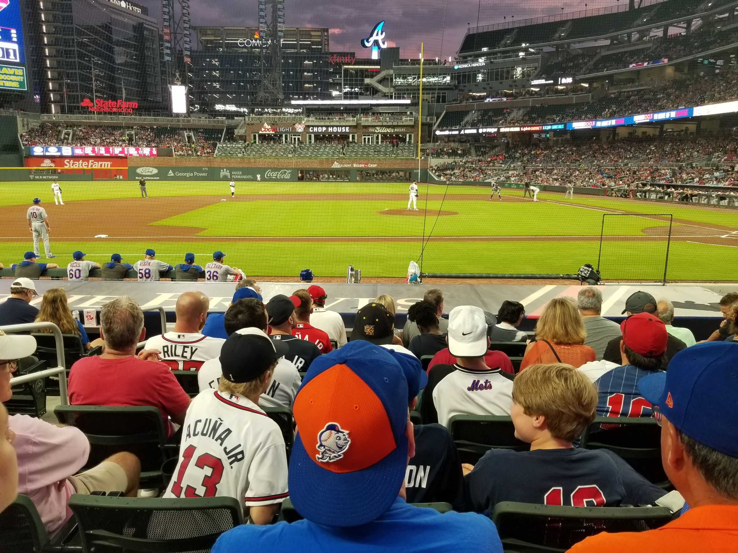 Section 31 seat view