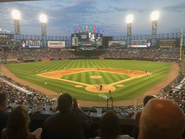 Seat View for Guaranteed Rate Field Guaranteed Rate Club